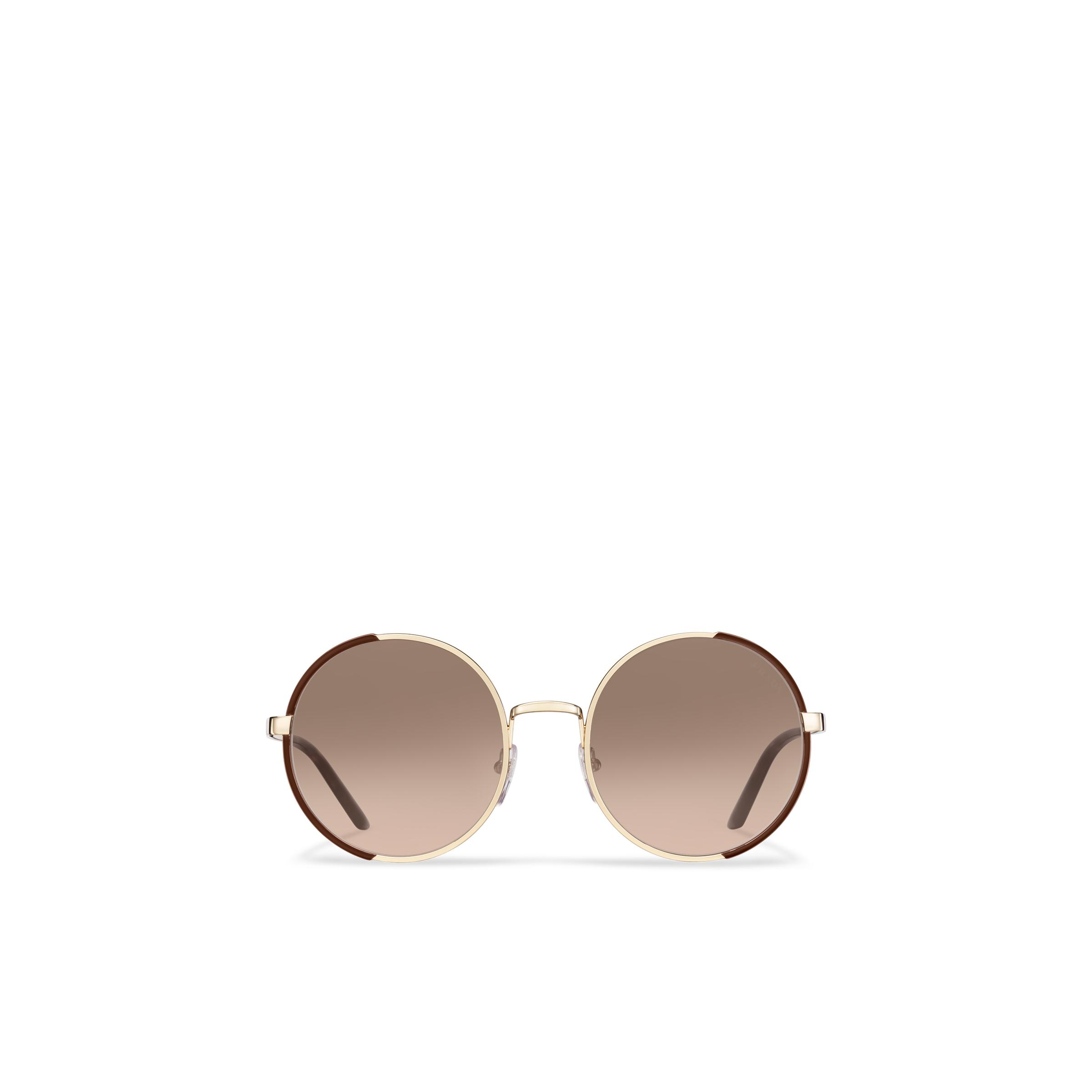 Eyewear Collection Sunglasses Women Gradient Anthracite Gray To Cammeo Beige Lenses