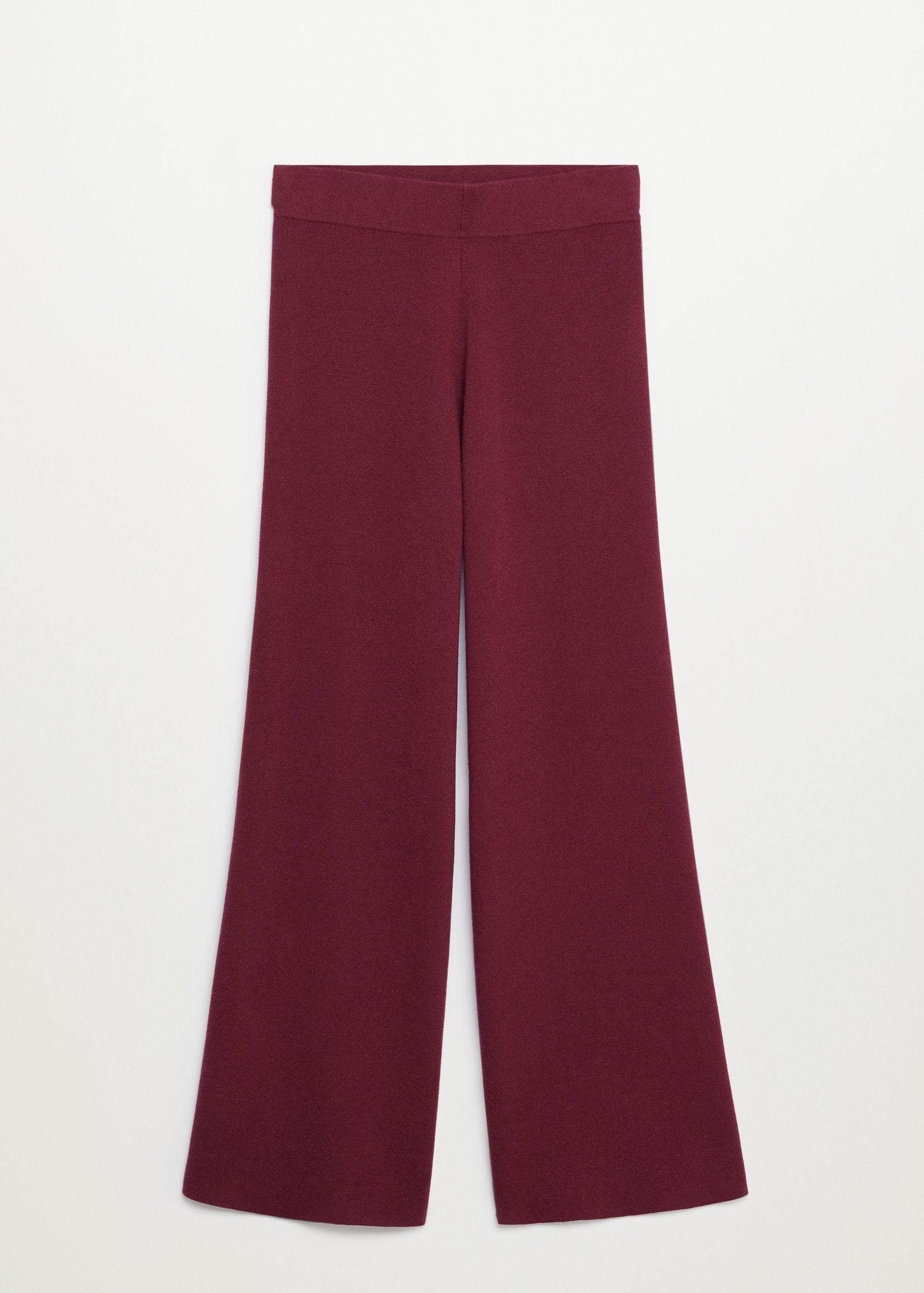 Flared knitted pants 6