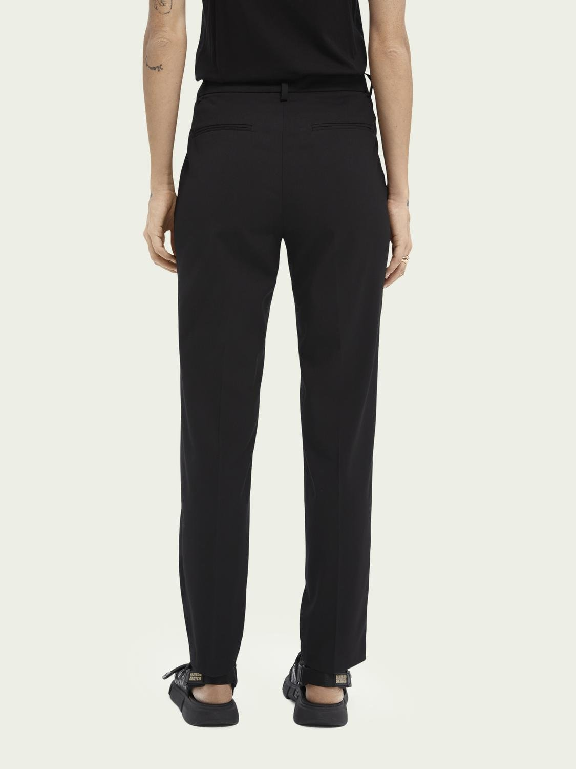 Lowry slim-fit mid-rise trousers 2