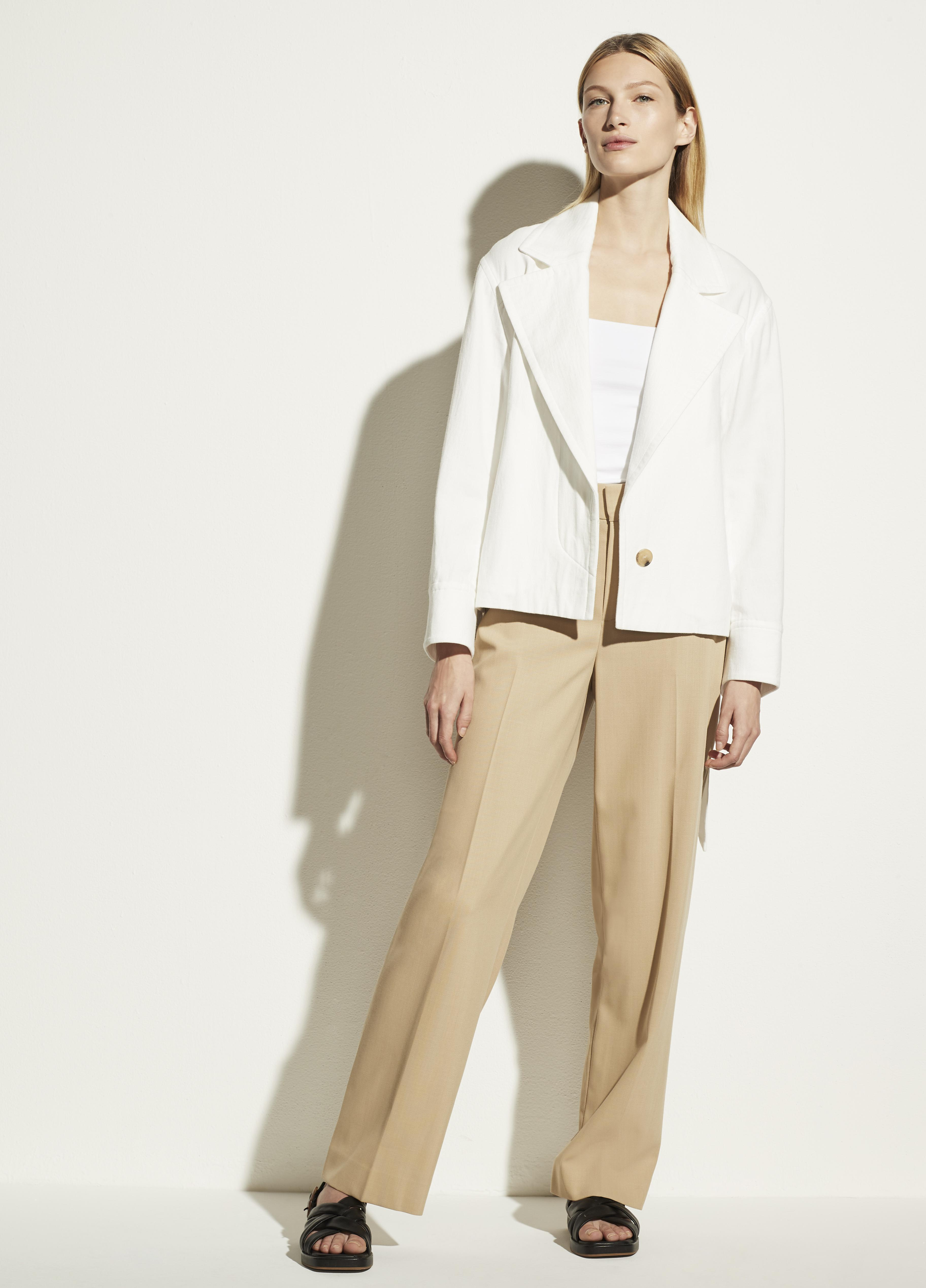 Cropped Casual Jacket 1
