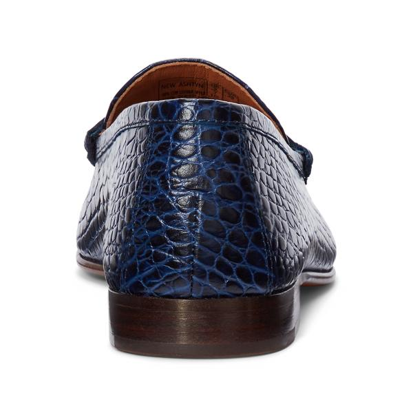 Ashtyn Embossed Leather Loafer 2