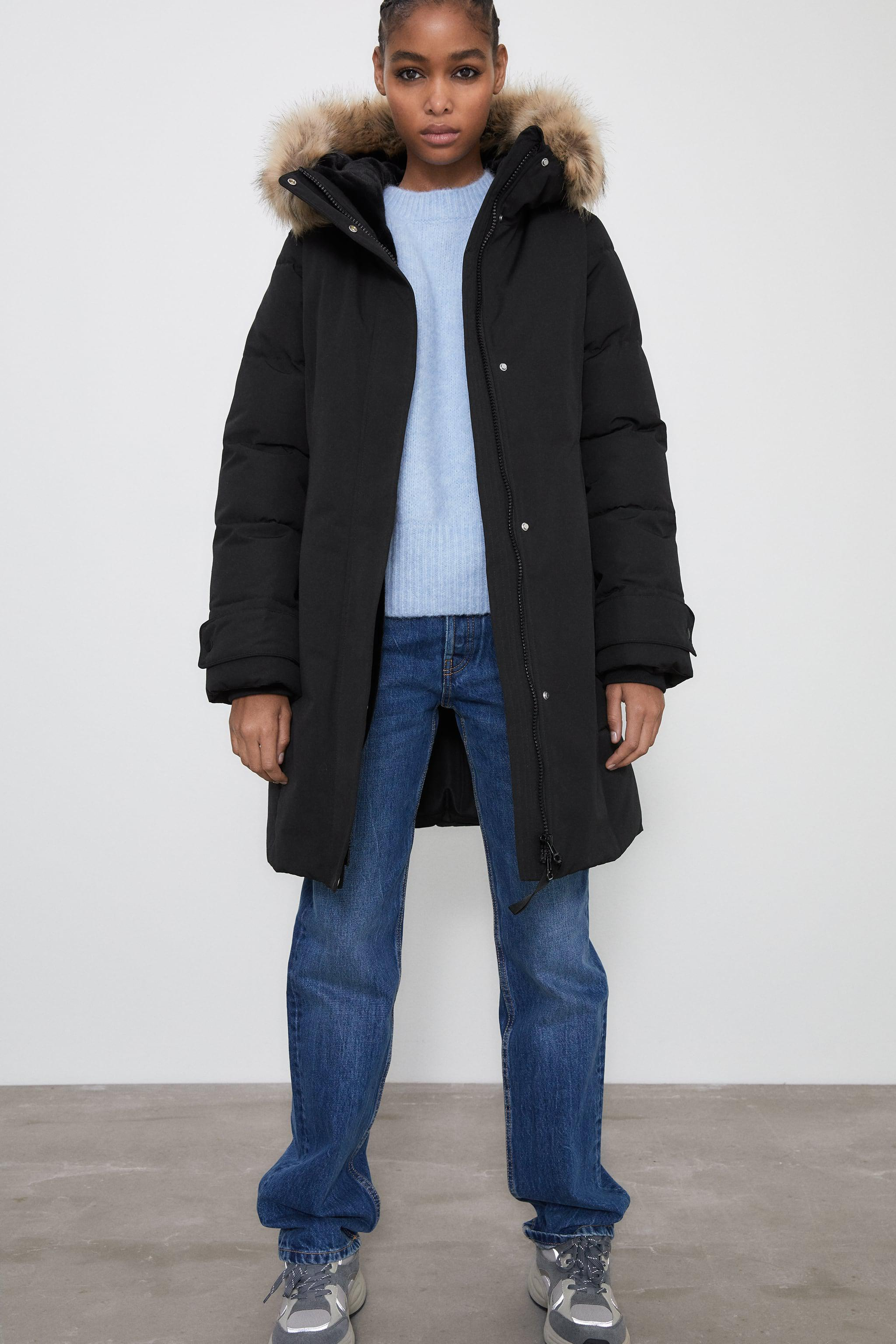 WATER REPELLENT LONG PADDED PARKA