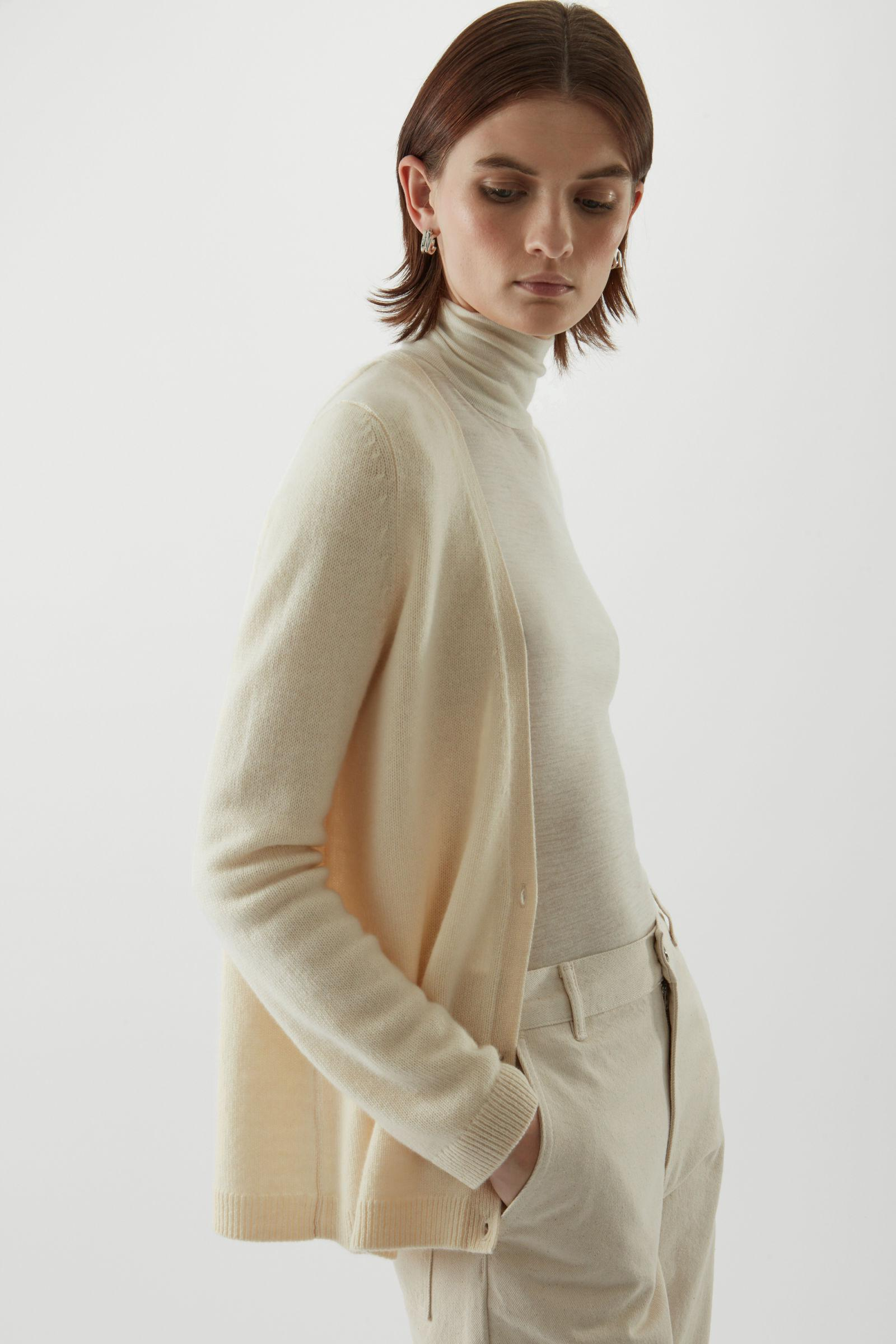 KNITTED CASHMERE CARDIGAN 2