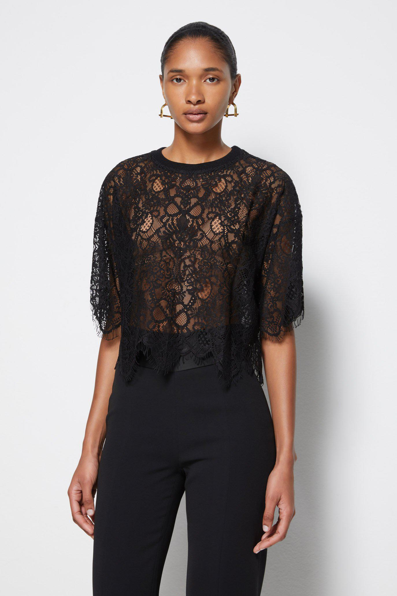 Signature Corded Lace Top