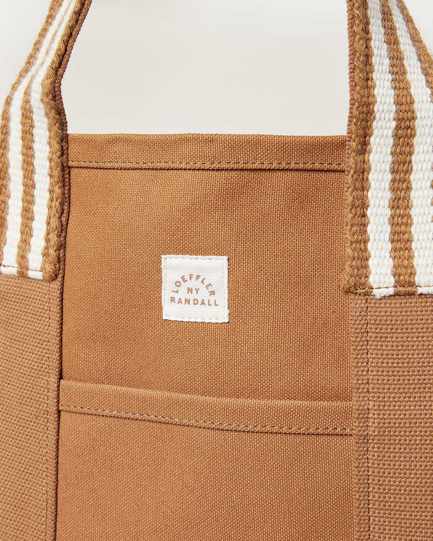 Bodie Toffee Oversized Open Tote 1