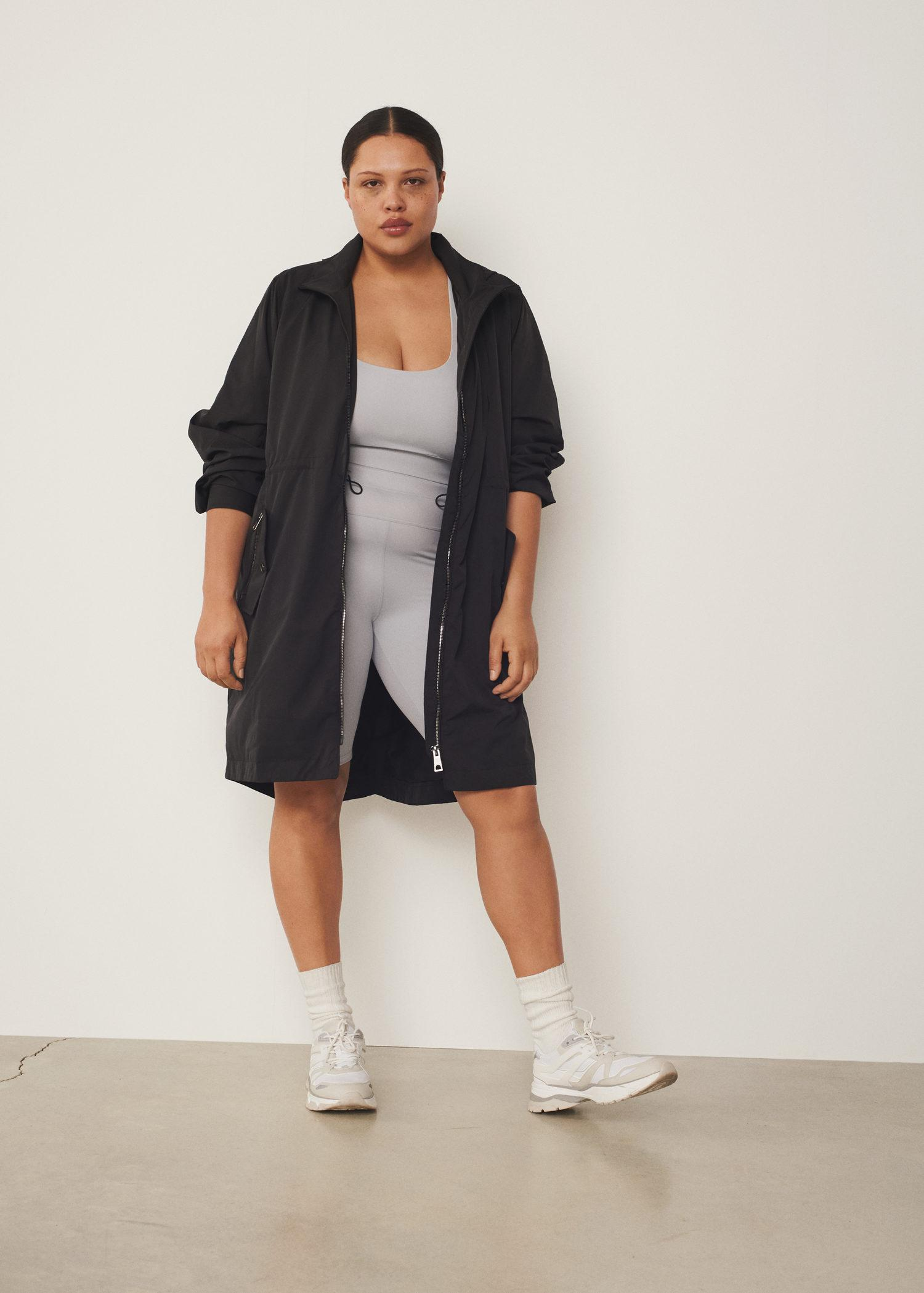 Parka with detachable fanny pack