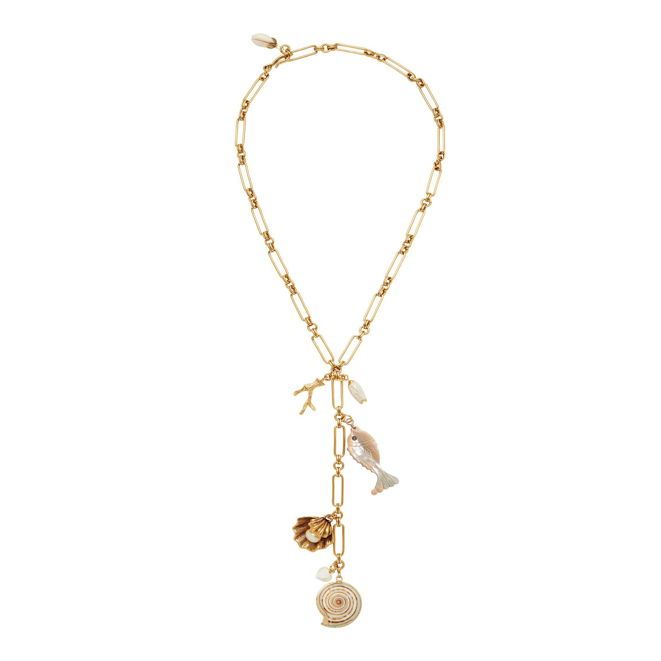 Shell Beach Y-Necklace