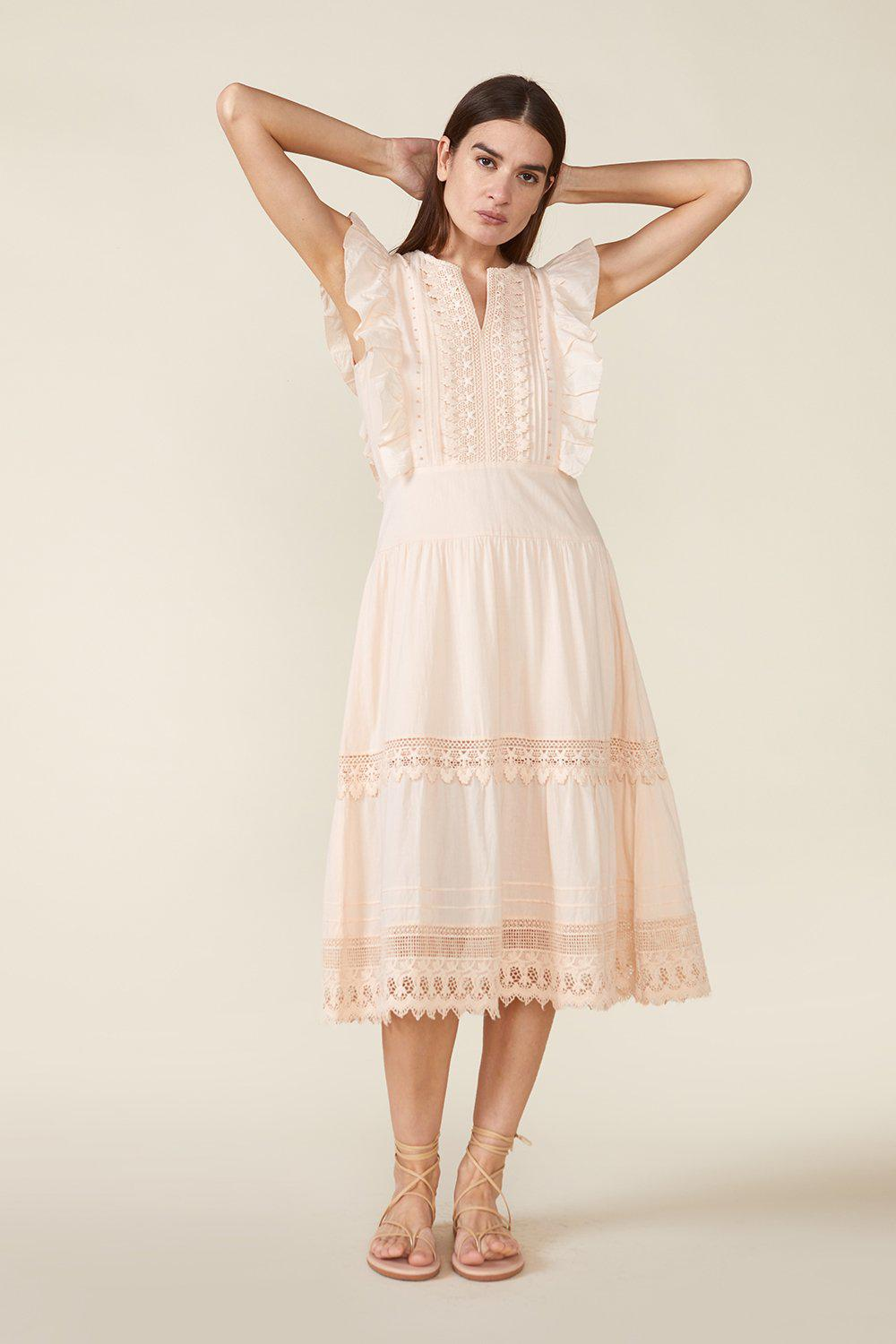 LUX DRESS, ROSEWATER
