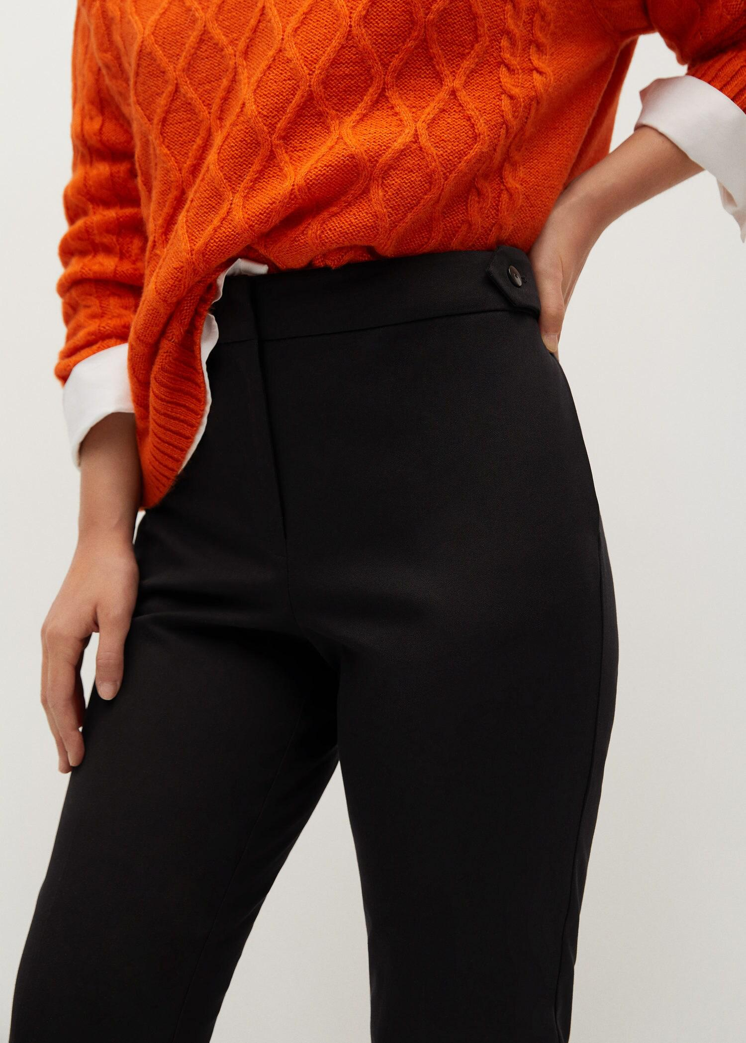 Side buttons pants 4