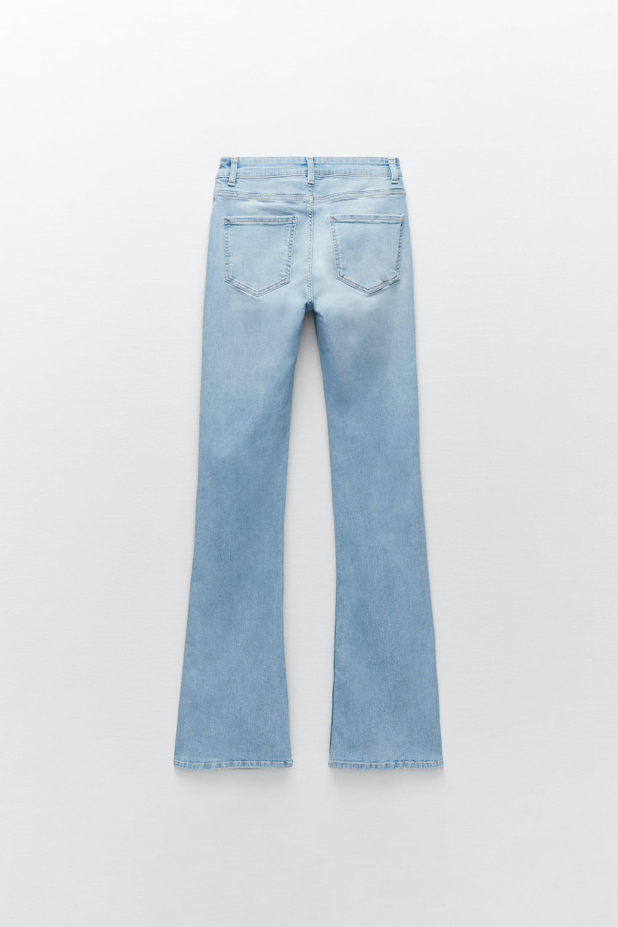 Z1975 HIGH RISE FLARED JEANS 4