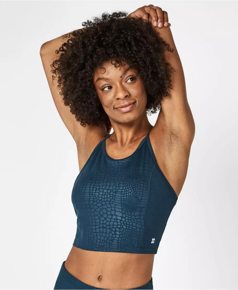 All Day Cropped Workout Tank