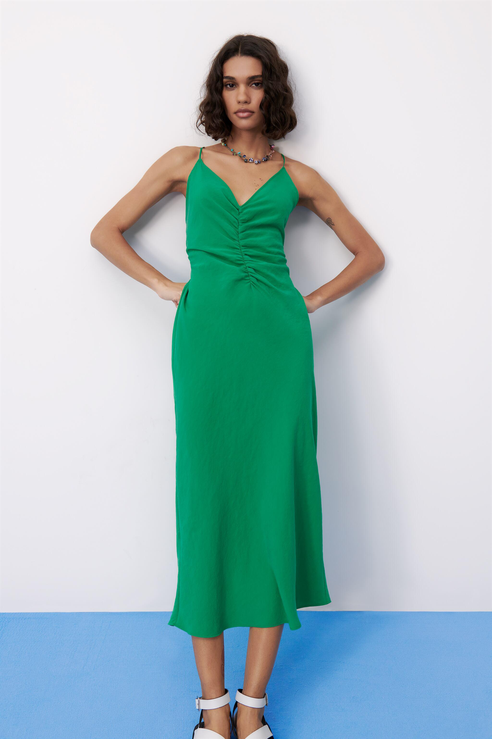 LONG RUCHED DRESS 3
