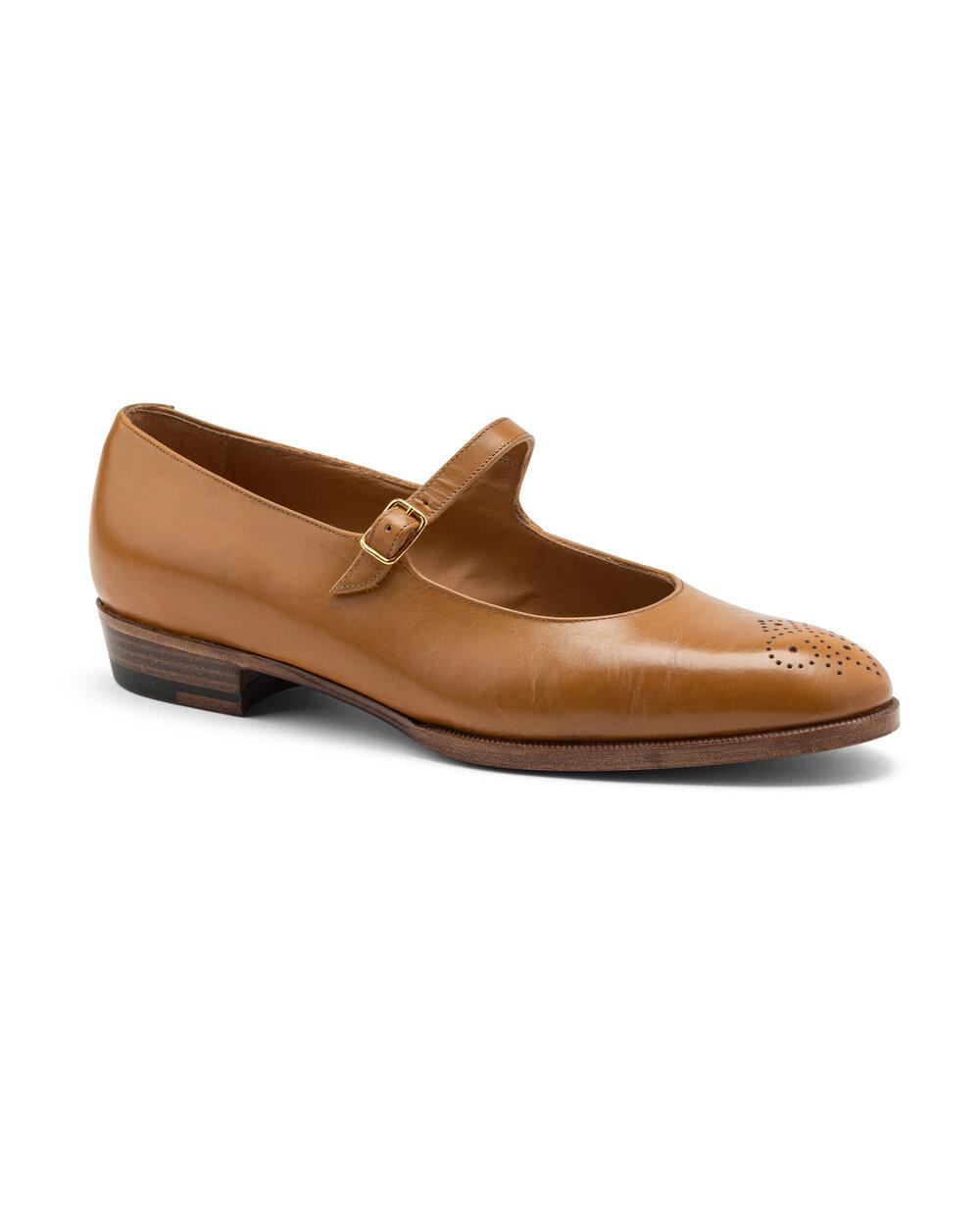 ODPEssentials Classic Mary Jane - Honey Leather