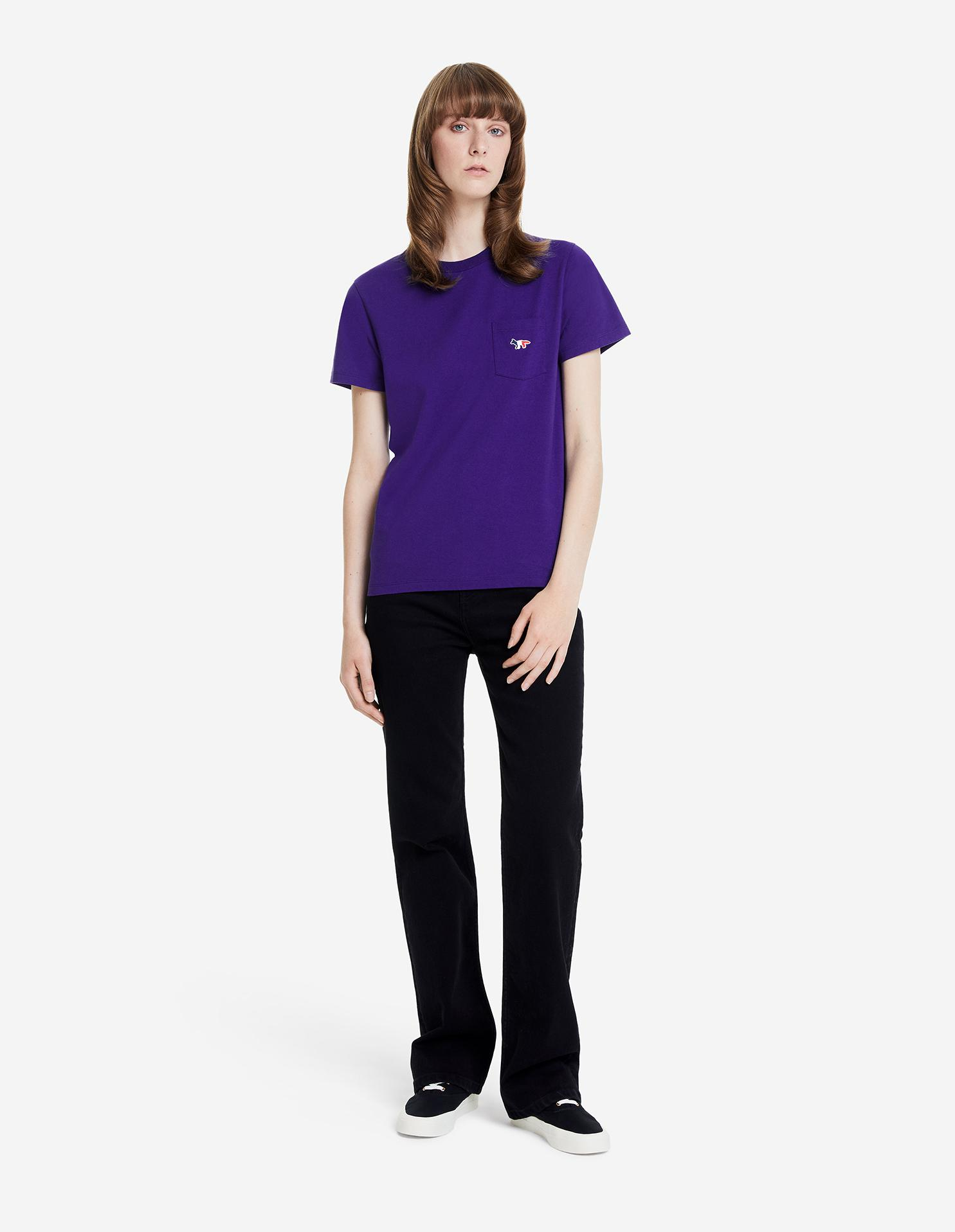 TRICOLOR FOX PATCH CLASSIC POCKET TEE-SHIRT 3
