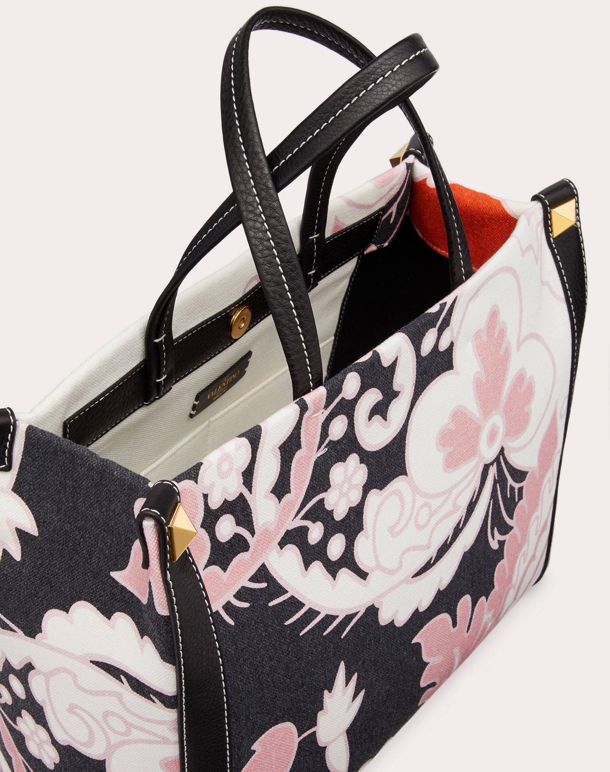 Small Canvas Tote Bag with Print 3
