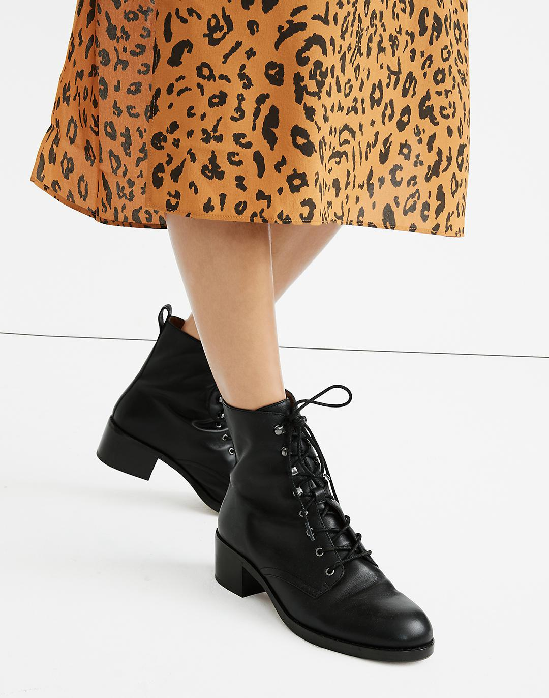 The Patti Lace-Up Boot 3