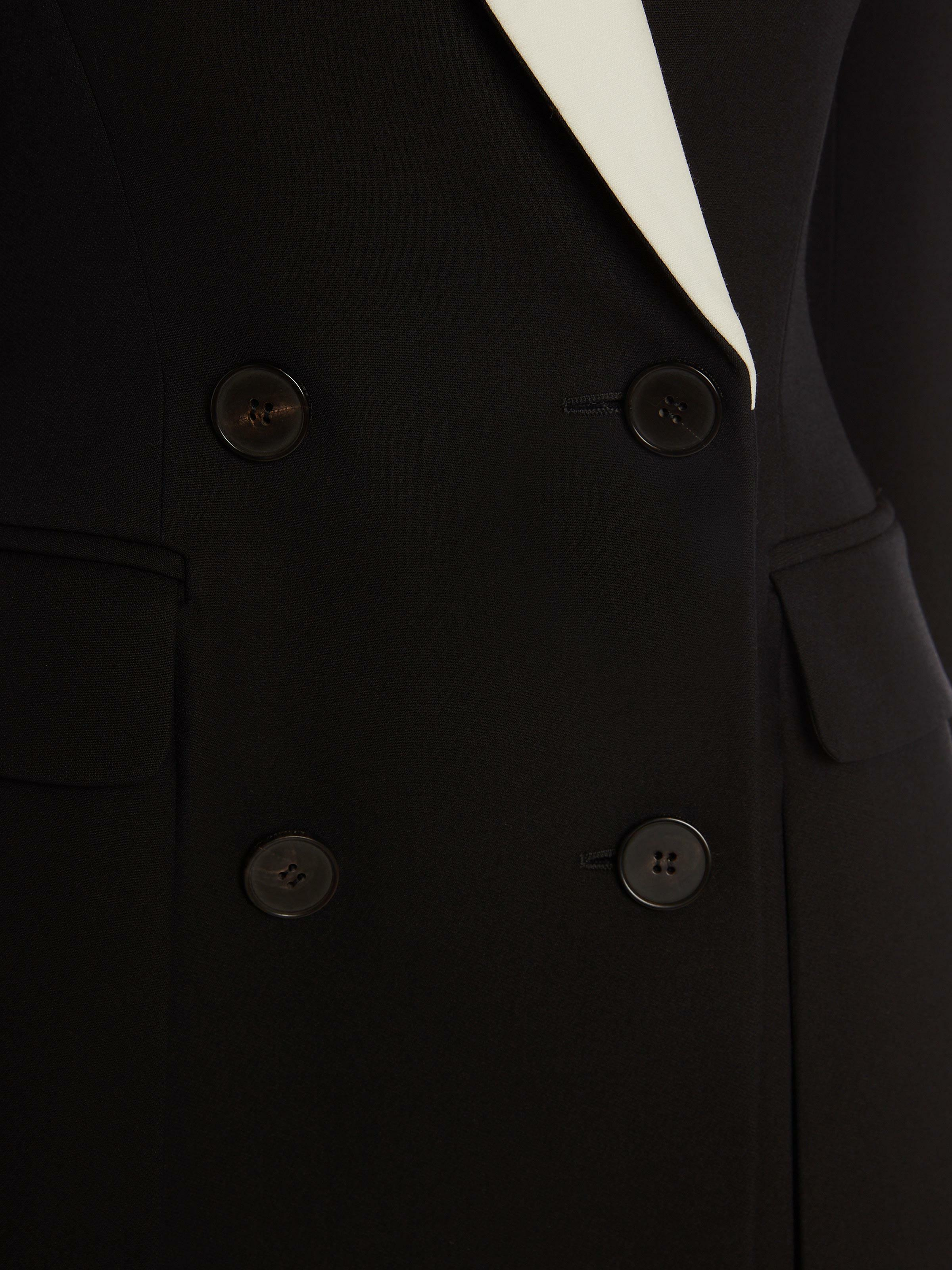 Double-Breasted Box Pleat Jacket 4