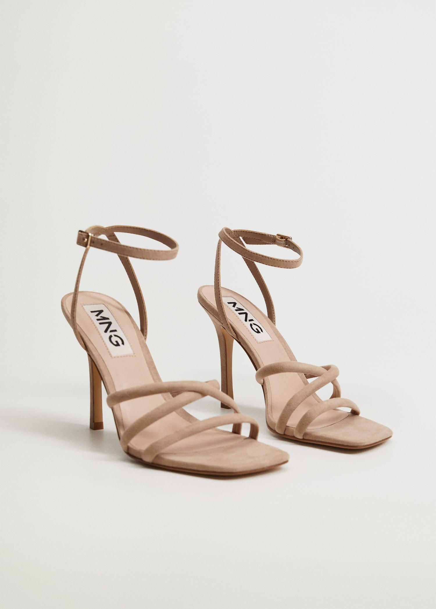 Strappy heeled sandals 1