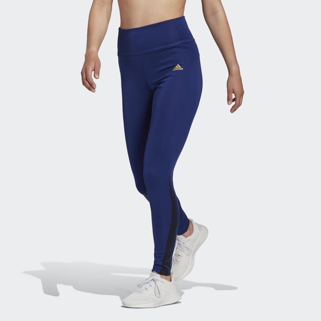Feelbrilliant Designed to Move Twinkle 7/8 Tights Victory Blue