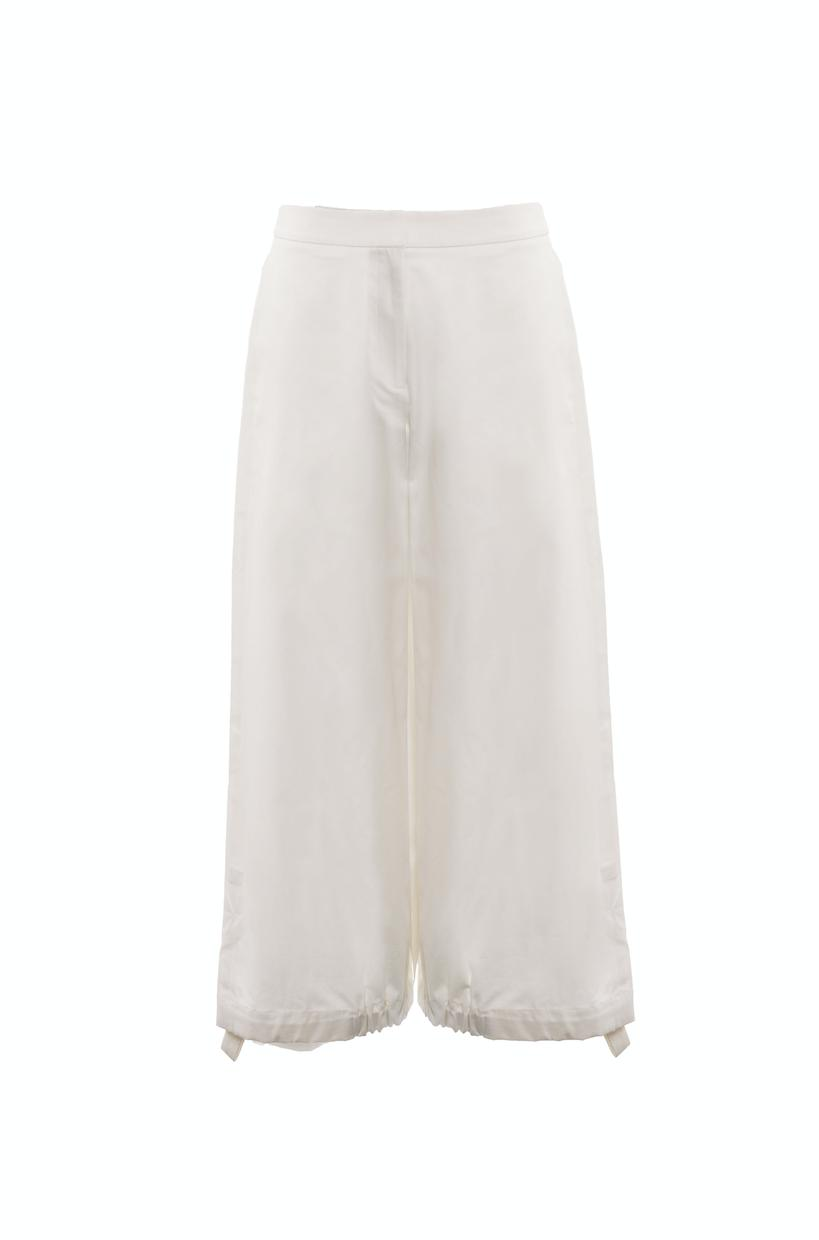 Drawcord Trousers (Ivory) 4