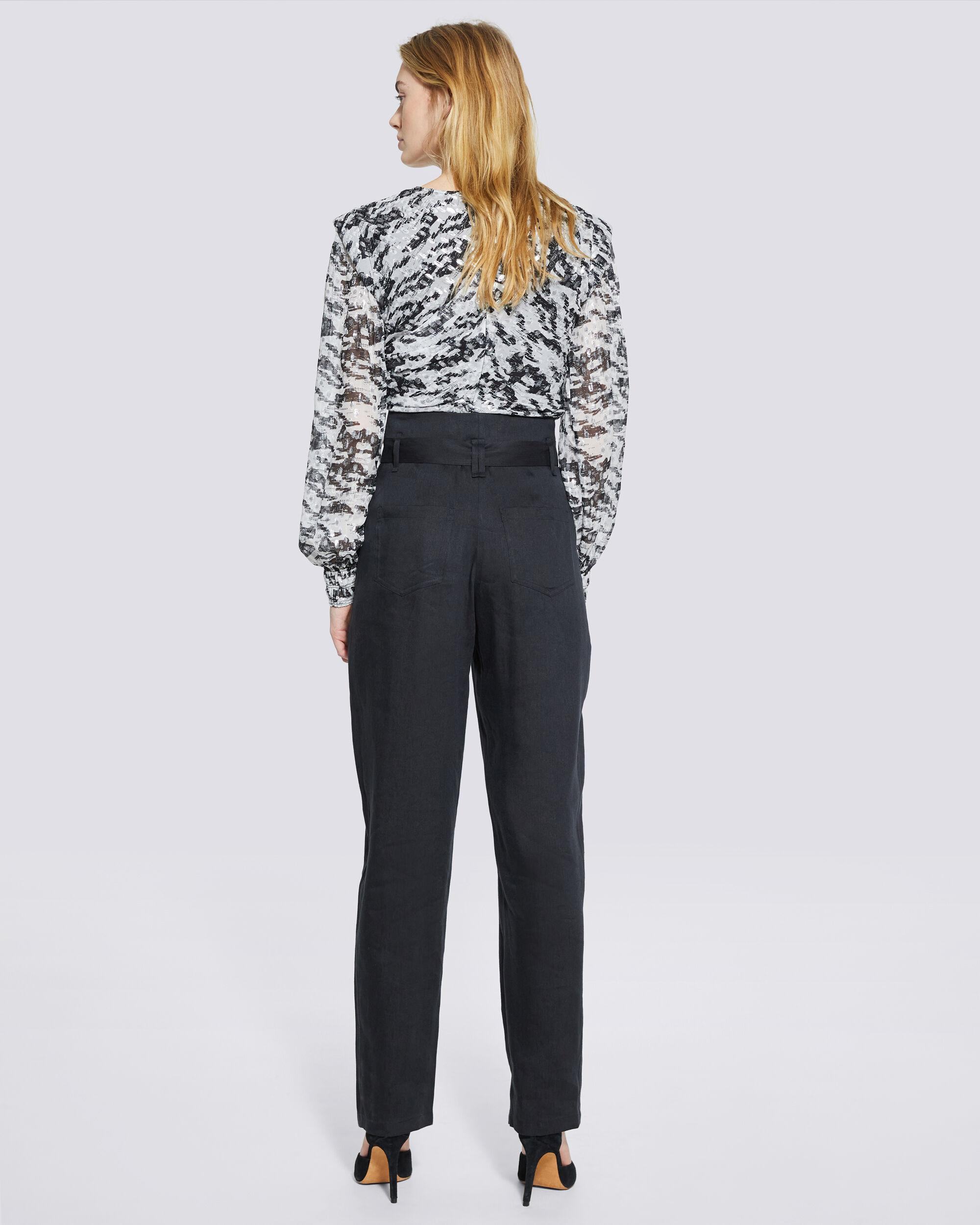 MARGATE PAPERBAG TAPERED TROUSER PANTS 2