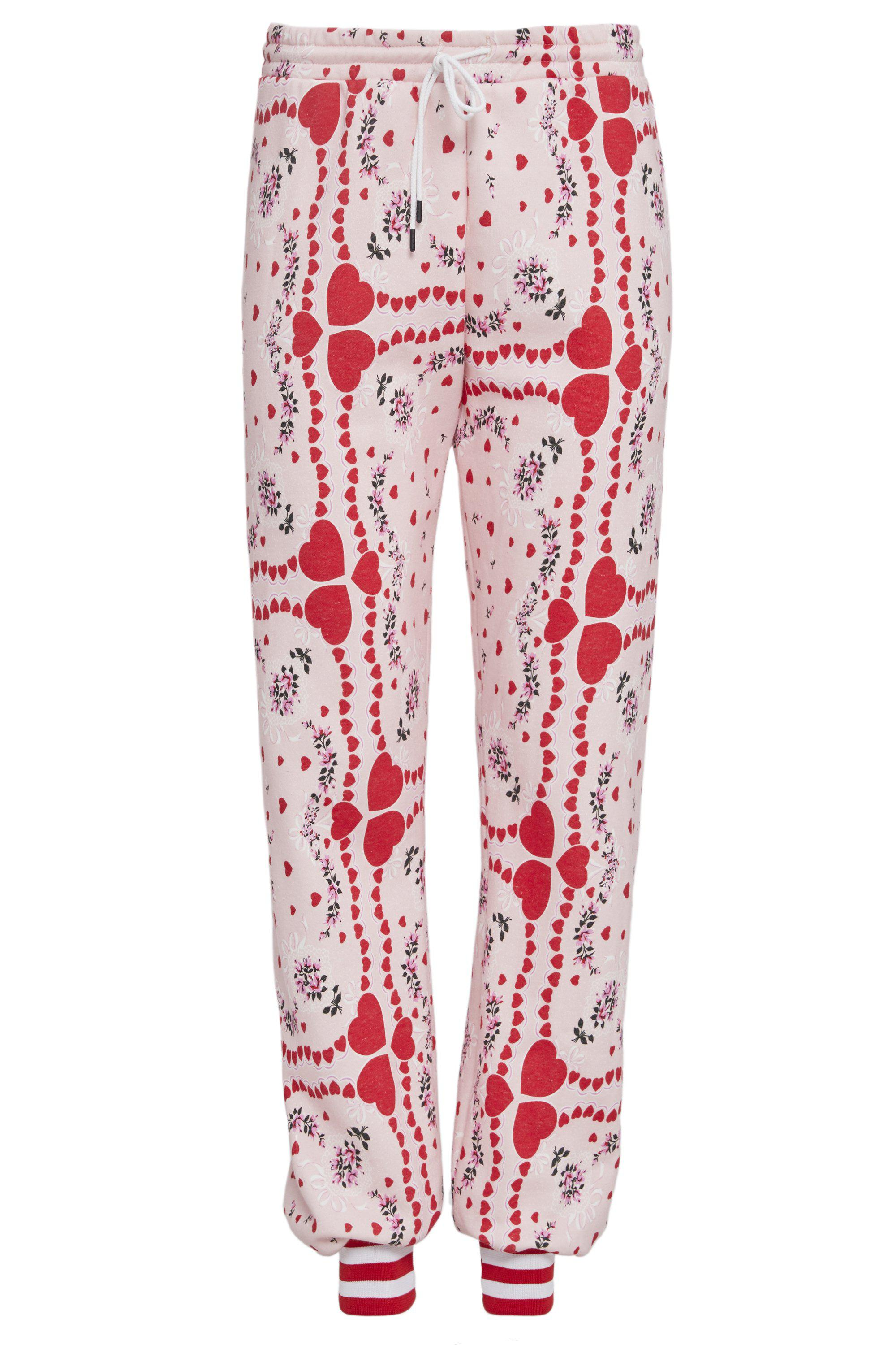 HEART AND FLORAL PRINT SWEATPANT 5