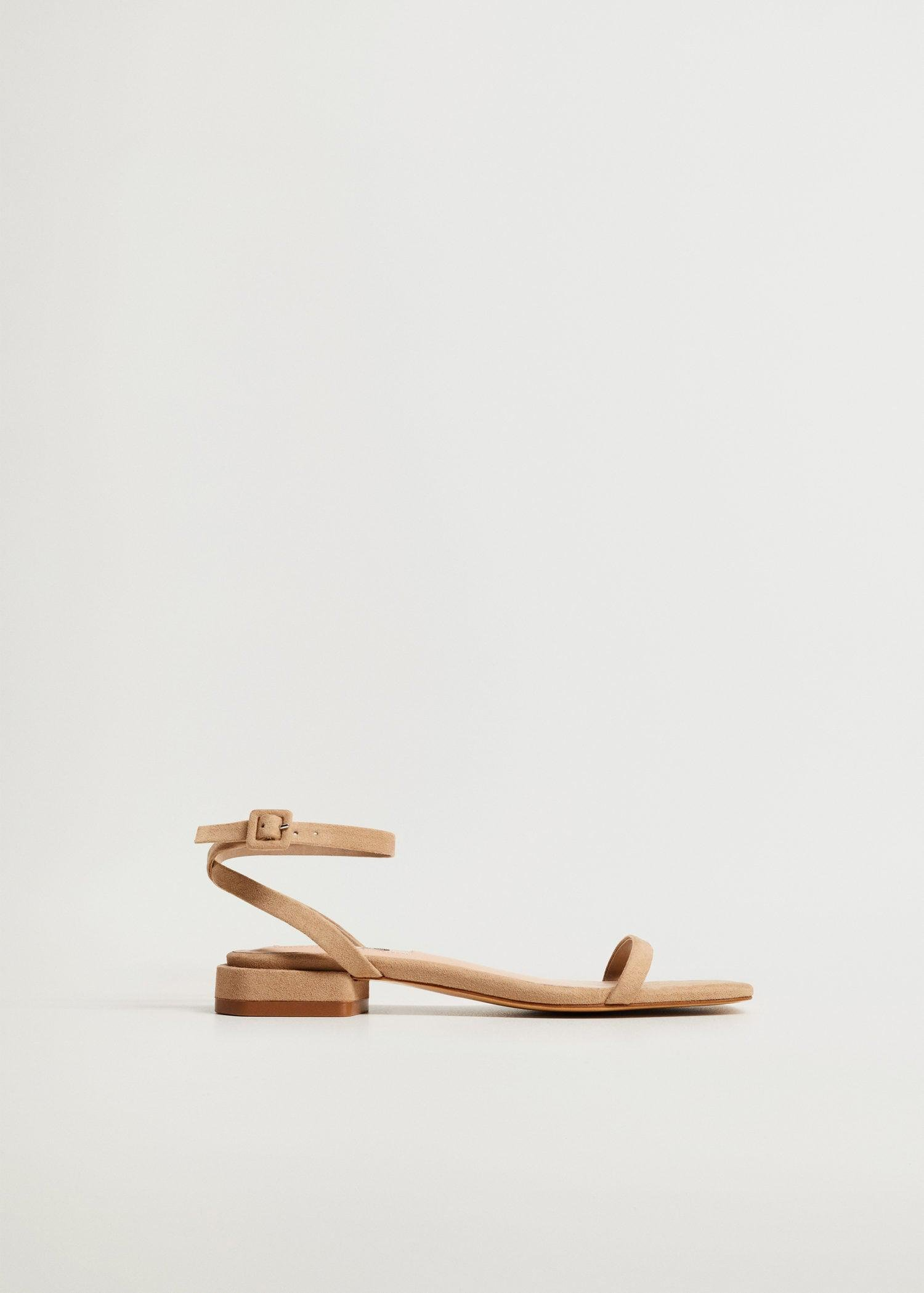 Ankle-cuff sandals