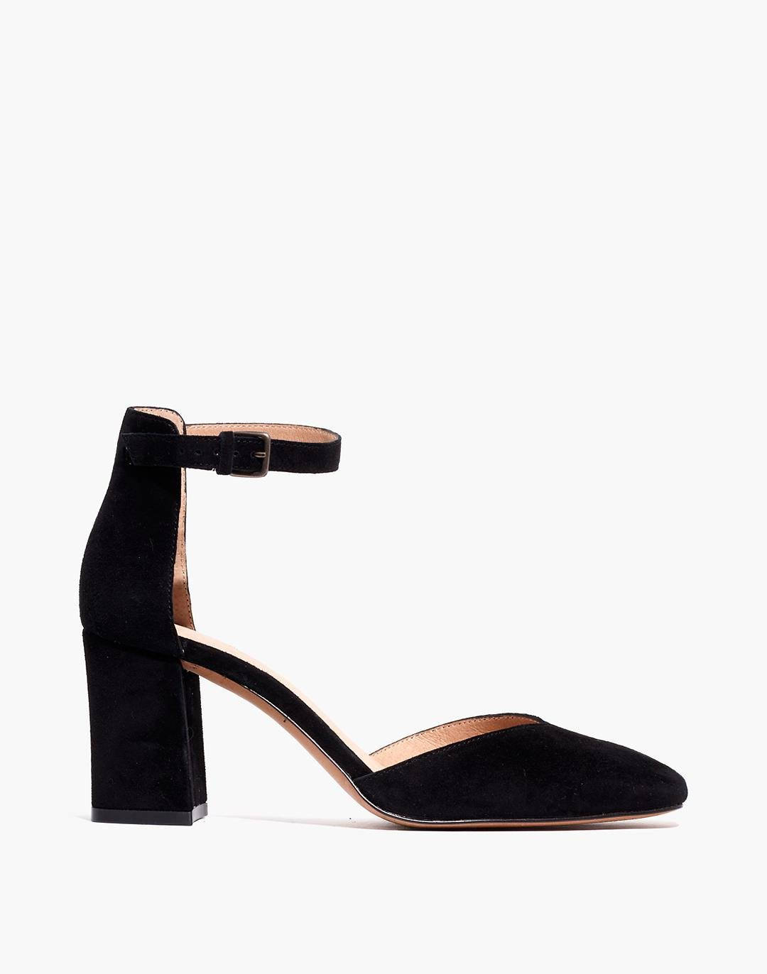 The Dove High-Heel Sandal in Suede 1