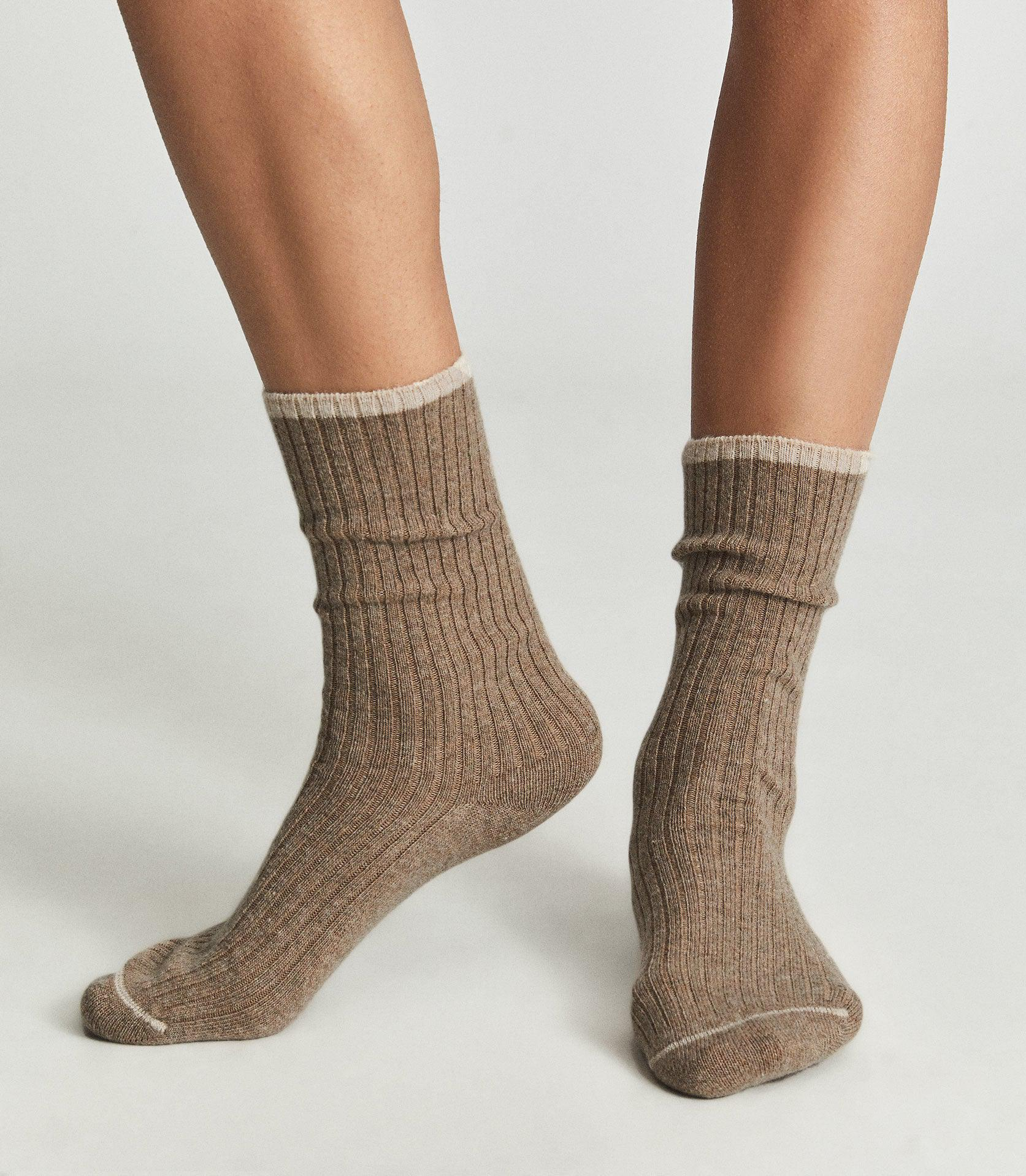 PICTON - LAMBSWOOL CASHMERE BLEND SOCKS