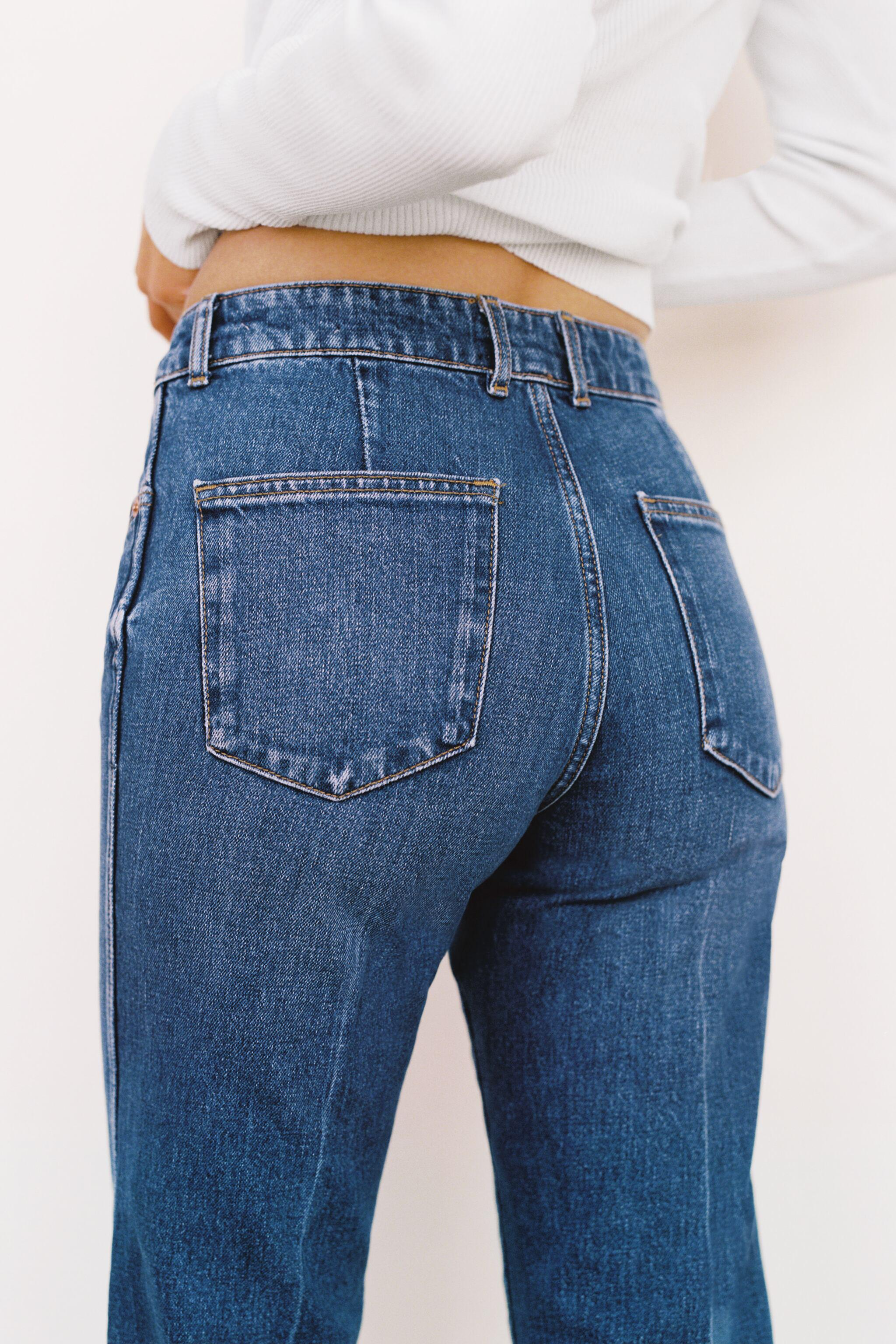 ZW THE NESS CROPPED FLARE JEANS 3