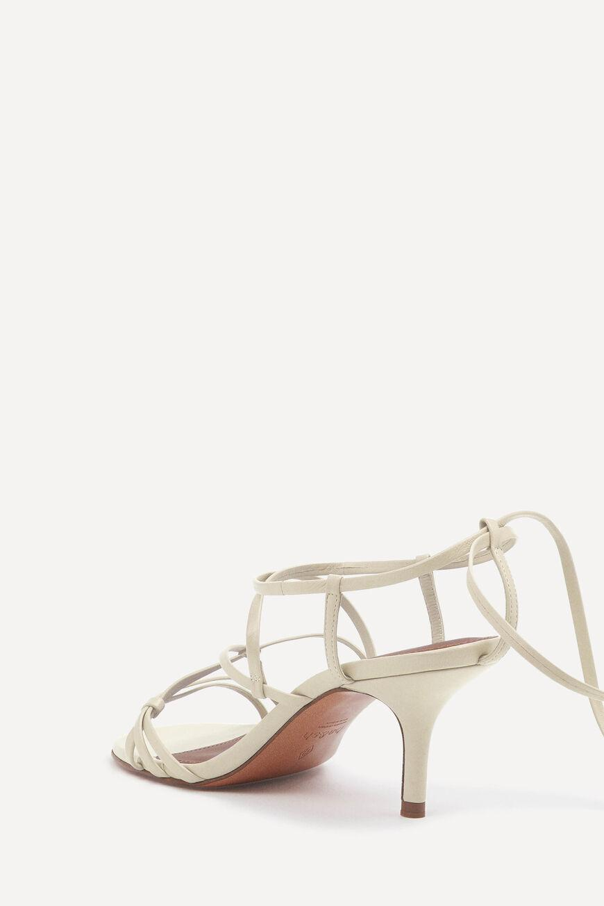 celly.LACE UP SANDALS 1