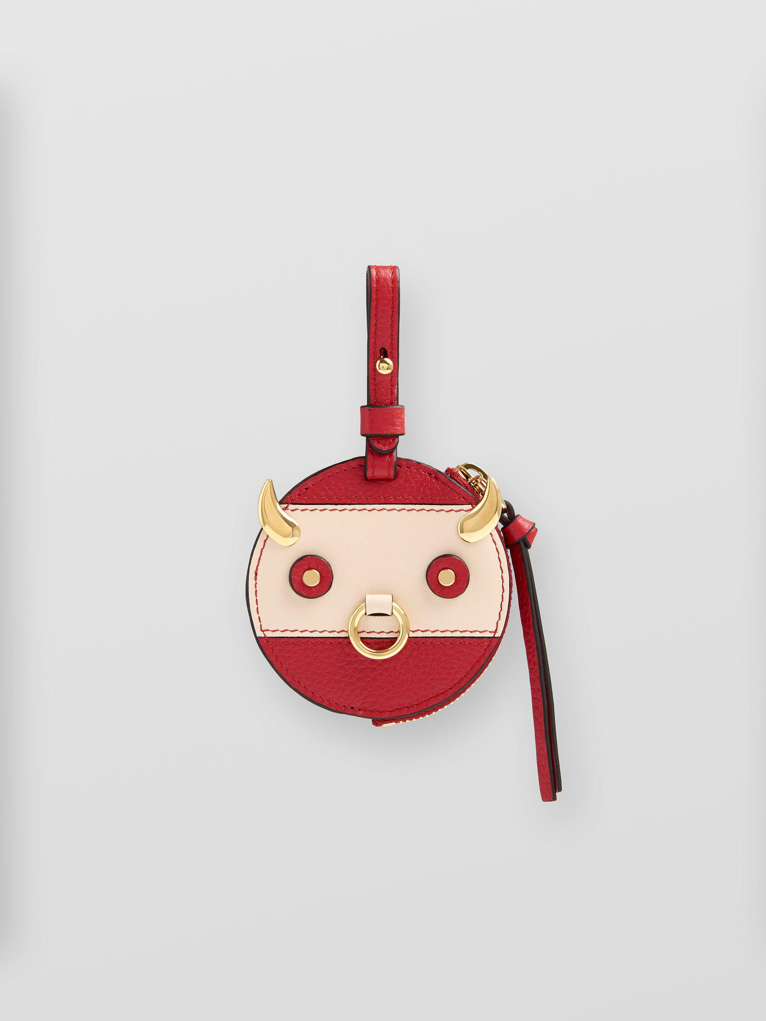 OX COIN PURSE KEY RING