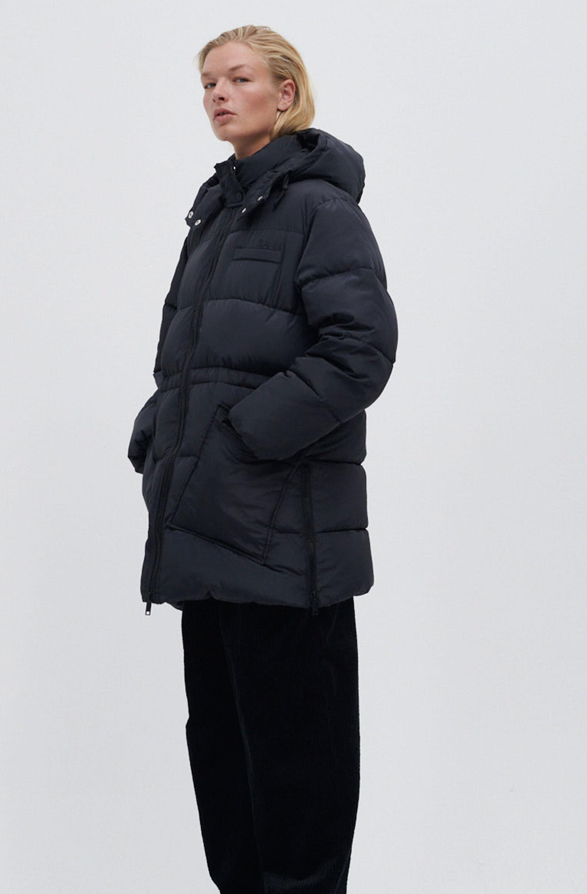 Recycled Polyester Oversized Puffer Midi Jacket