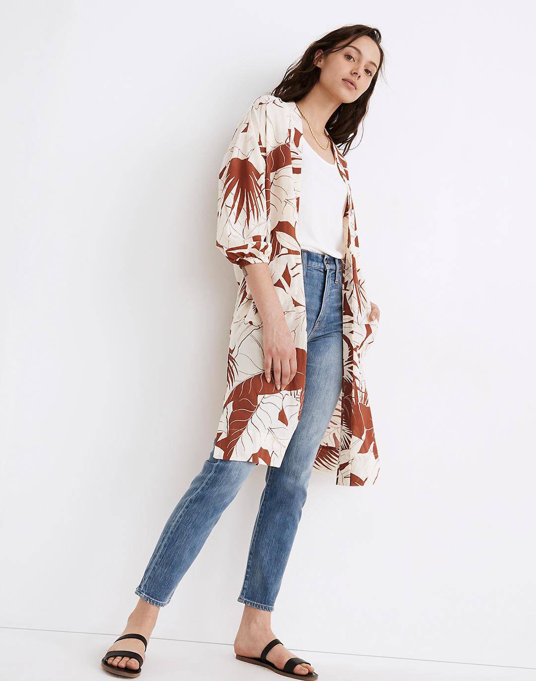 Robe Jacket in Tropical Vacation 1