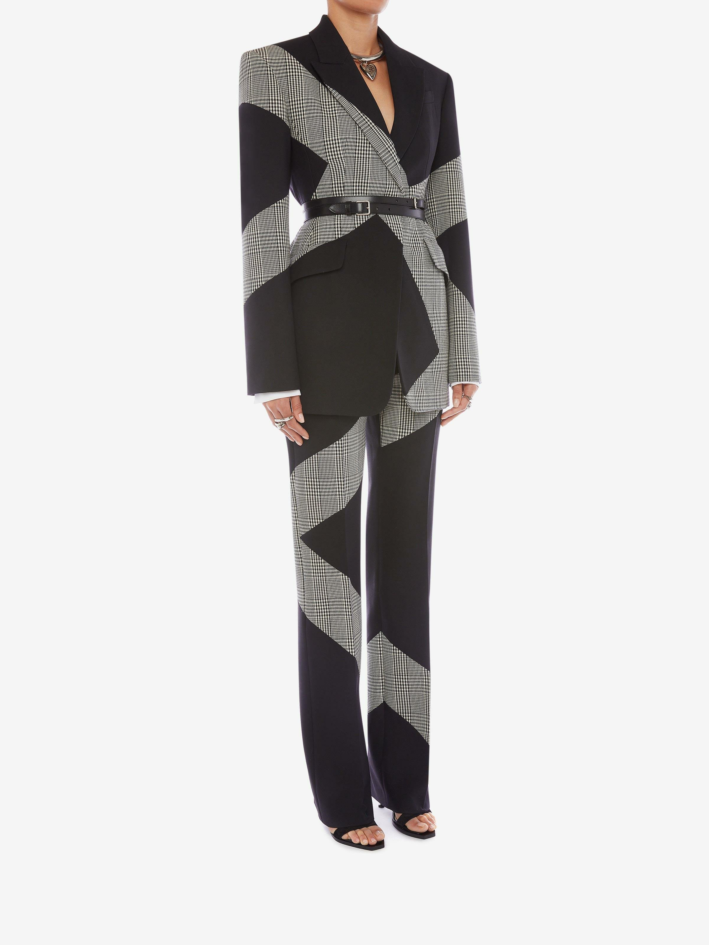 Prince of Wales Spliced Cigarette Trouser 1