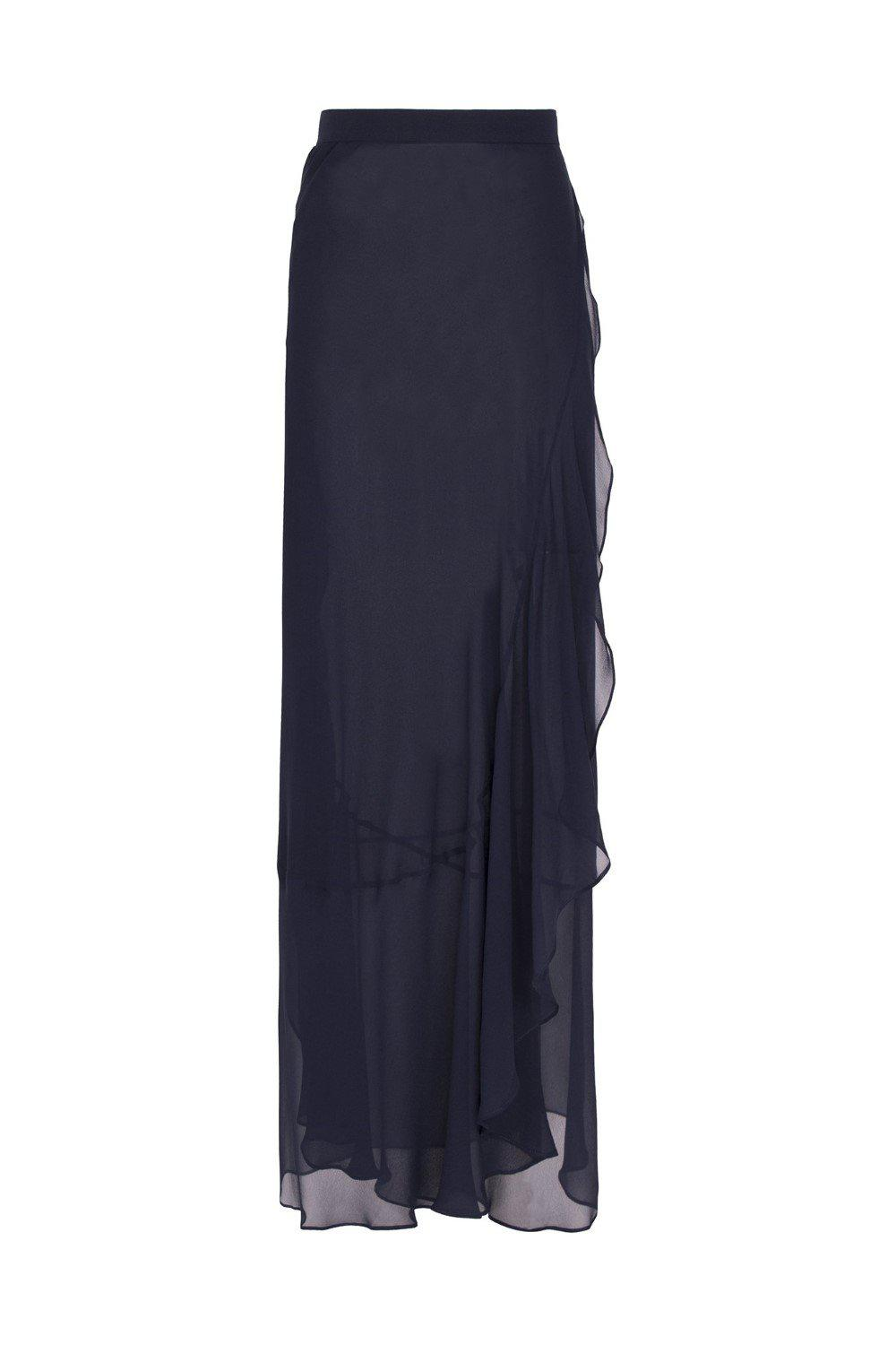 Solid Pareo Skirt