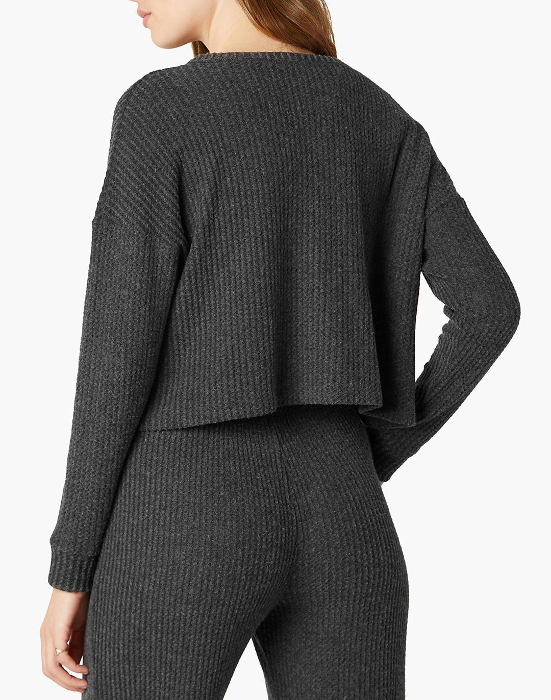 Beyond Yoga Brushed Up Cropped Pullover 2