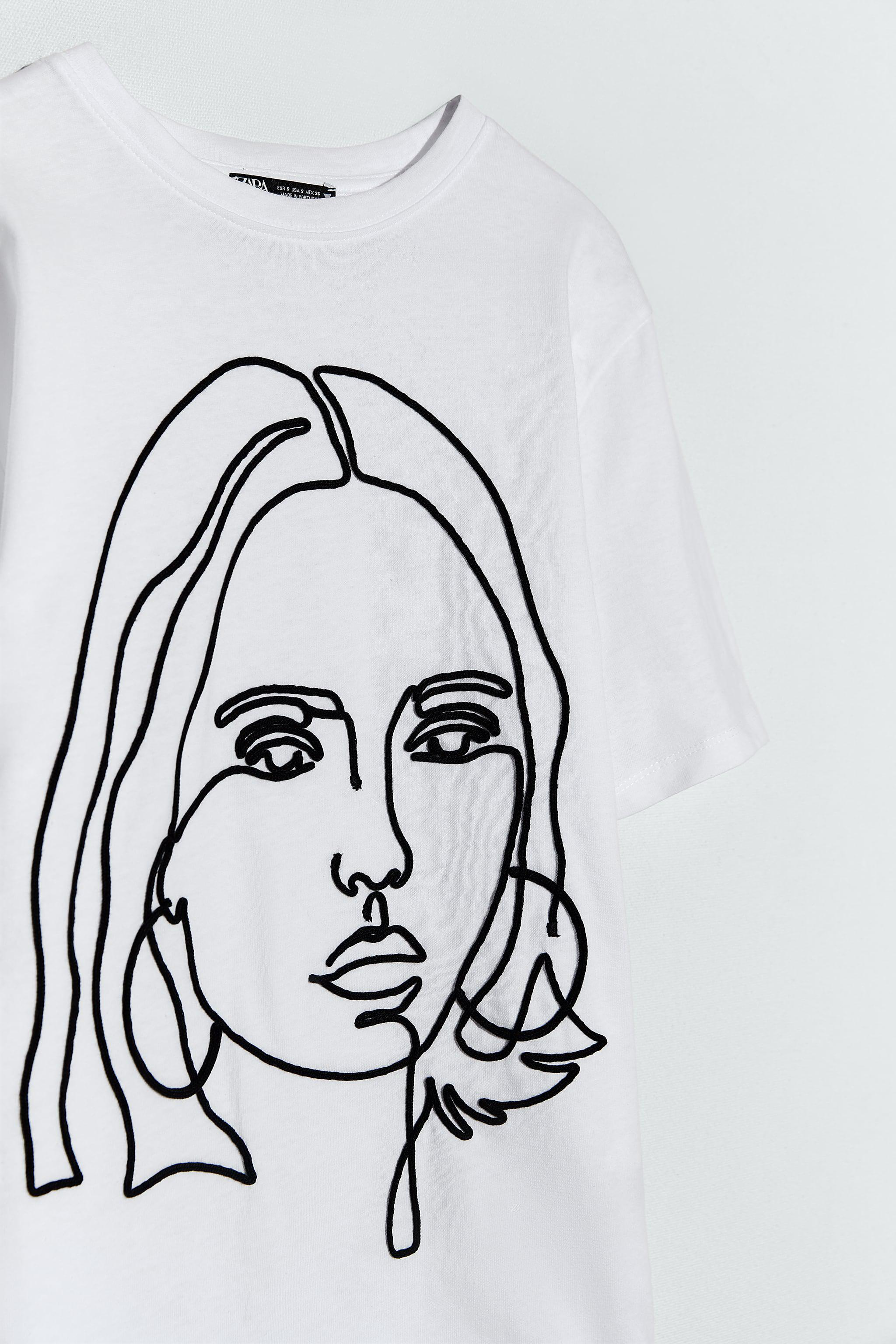 RAISED EMBROIDERY T-SHIRT 2