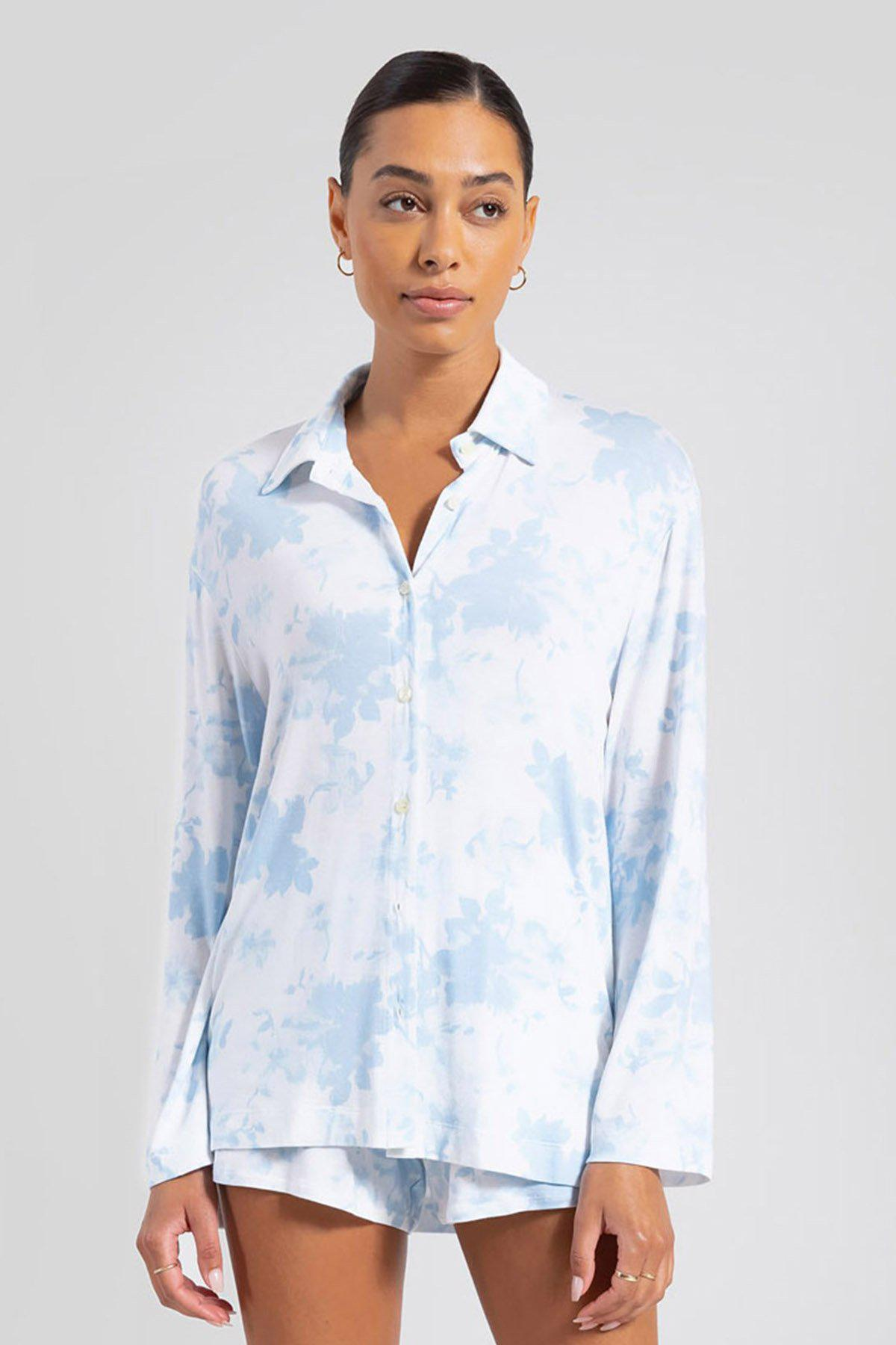 Nora Floral Button Down