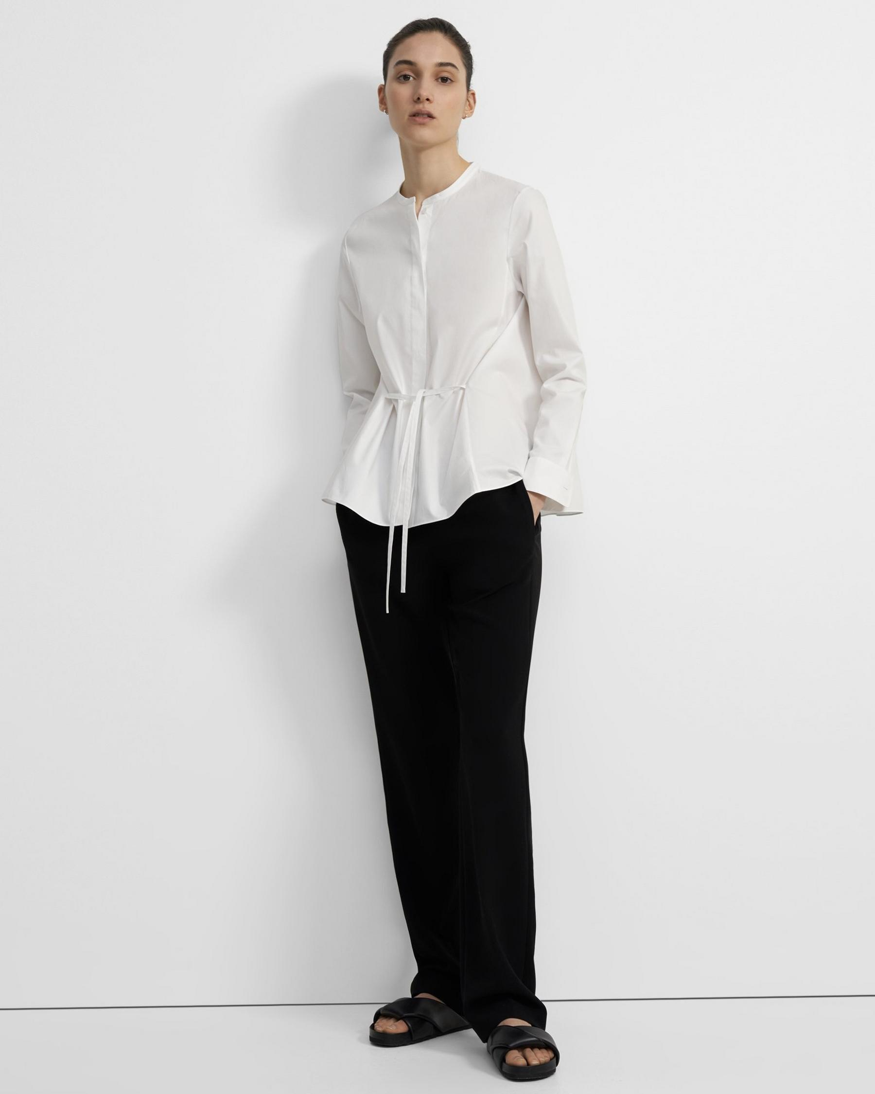 Cinched Shirt in Good Cotton 3