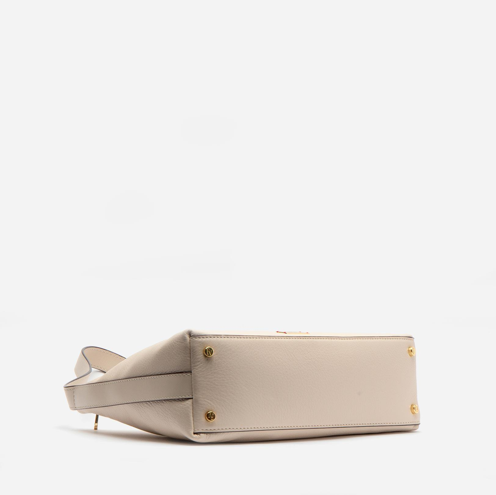 Laura Hobo Tumbled Leather Oyster 2