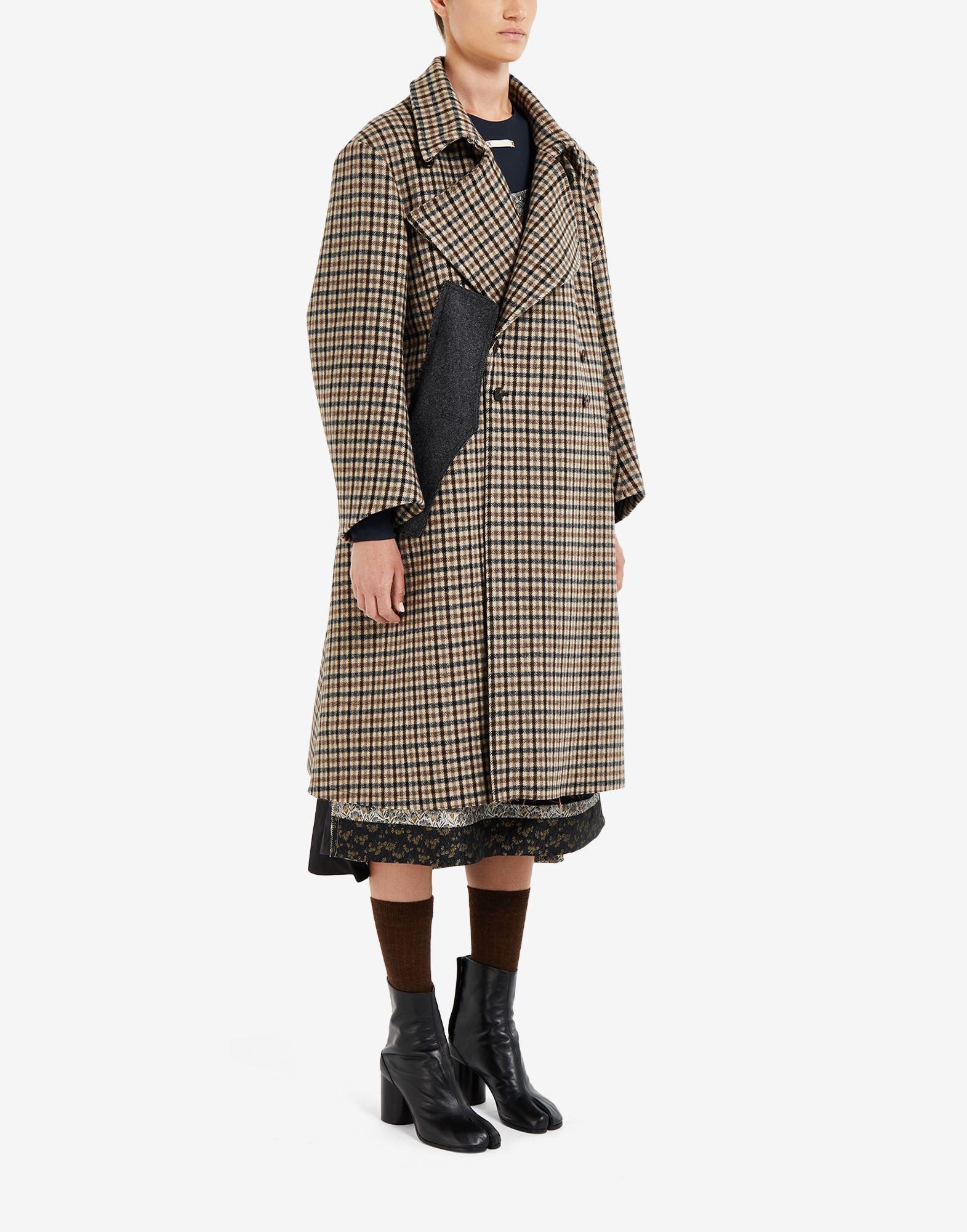 'Memory of' check trench coat 1