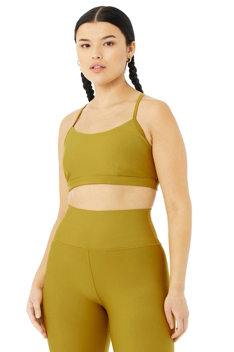 Airlift Intrigue Bra - Chartreuse 8