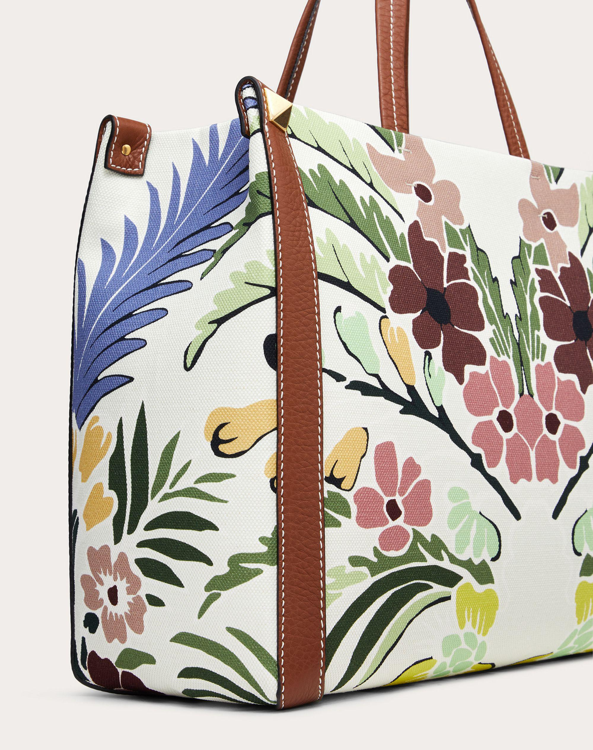 Small Canvas Tote Bag with Print 4