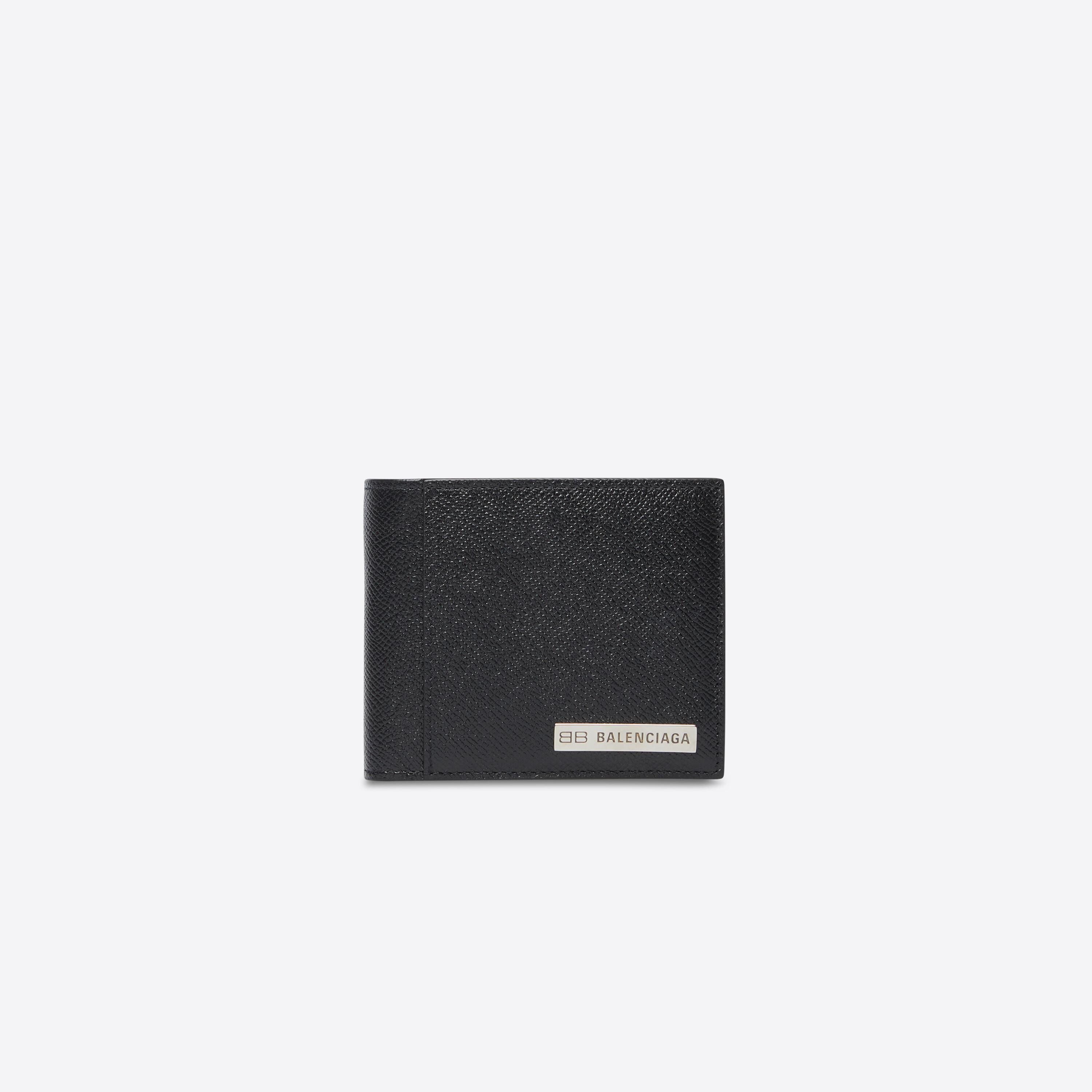 Plate Square Folded Coin Wallet