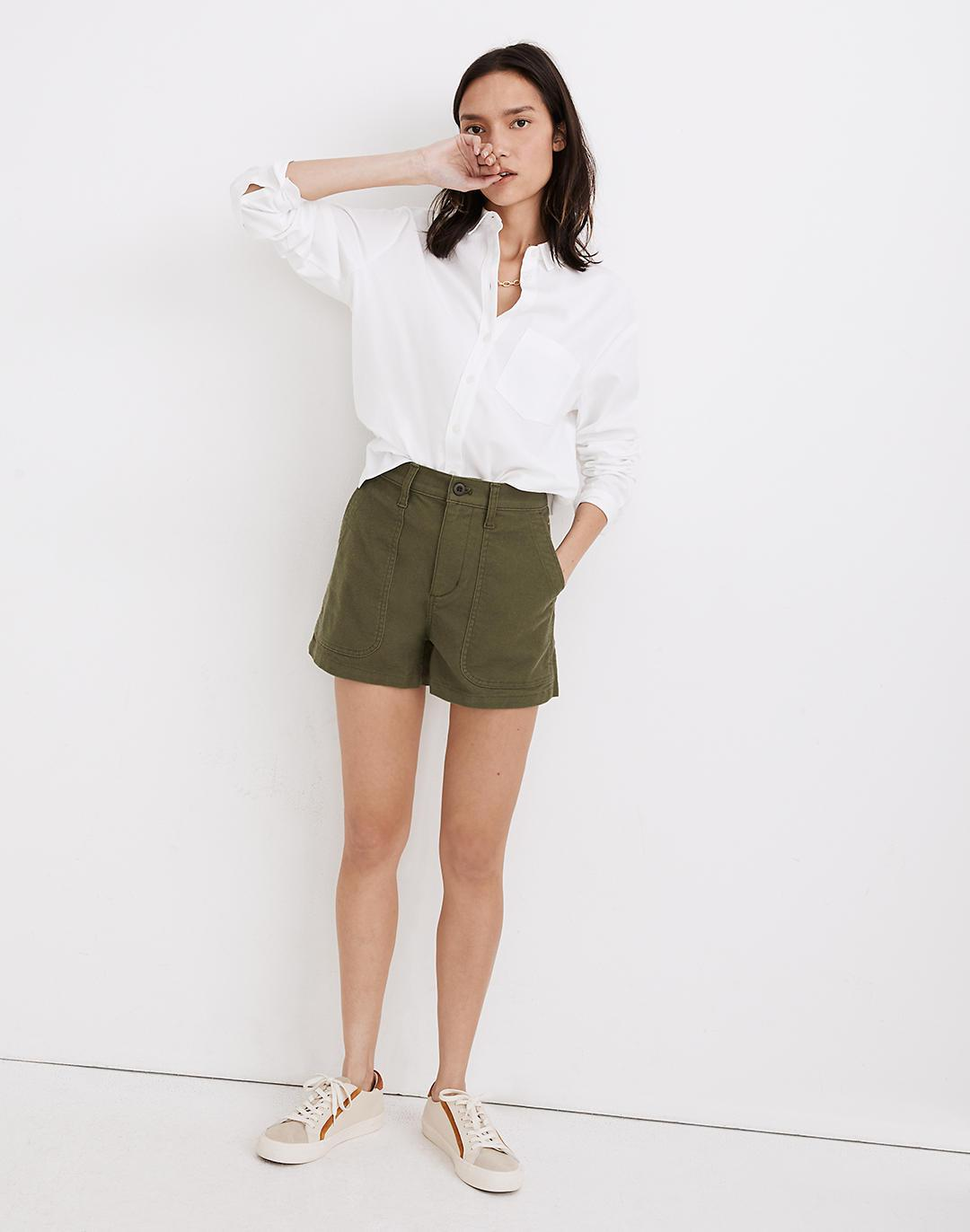 The Perfect Vintage Military Short