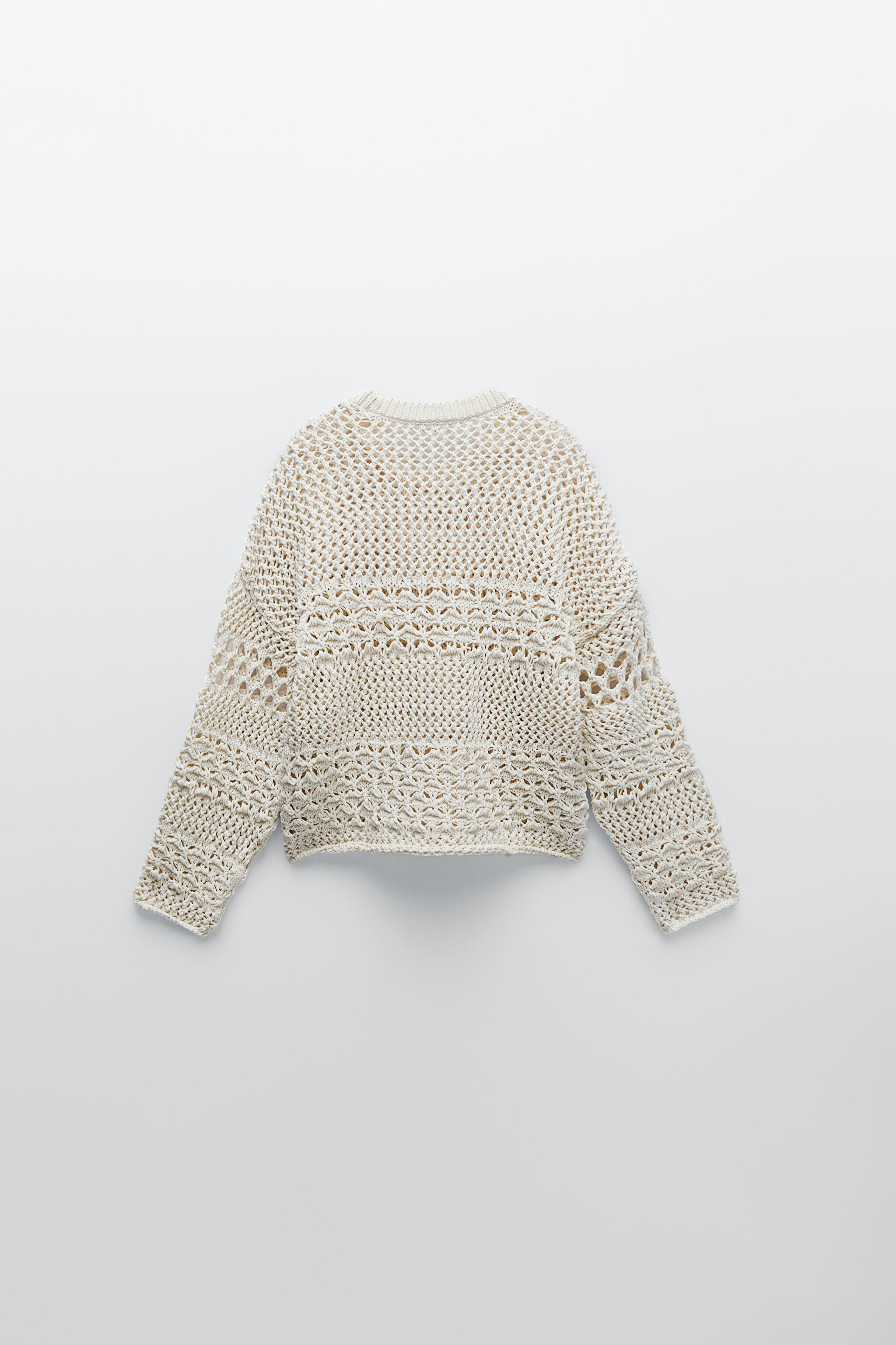 TEXTURED KNIT SWEATER 4