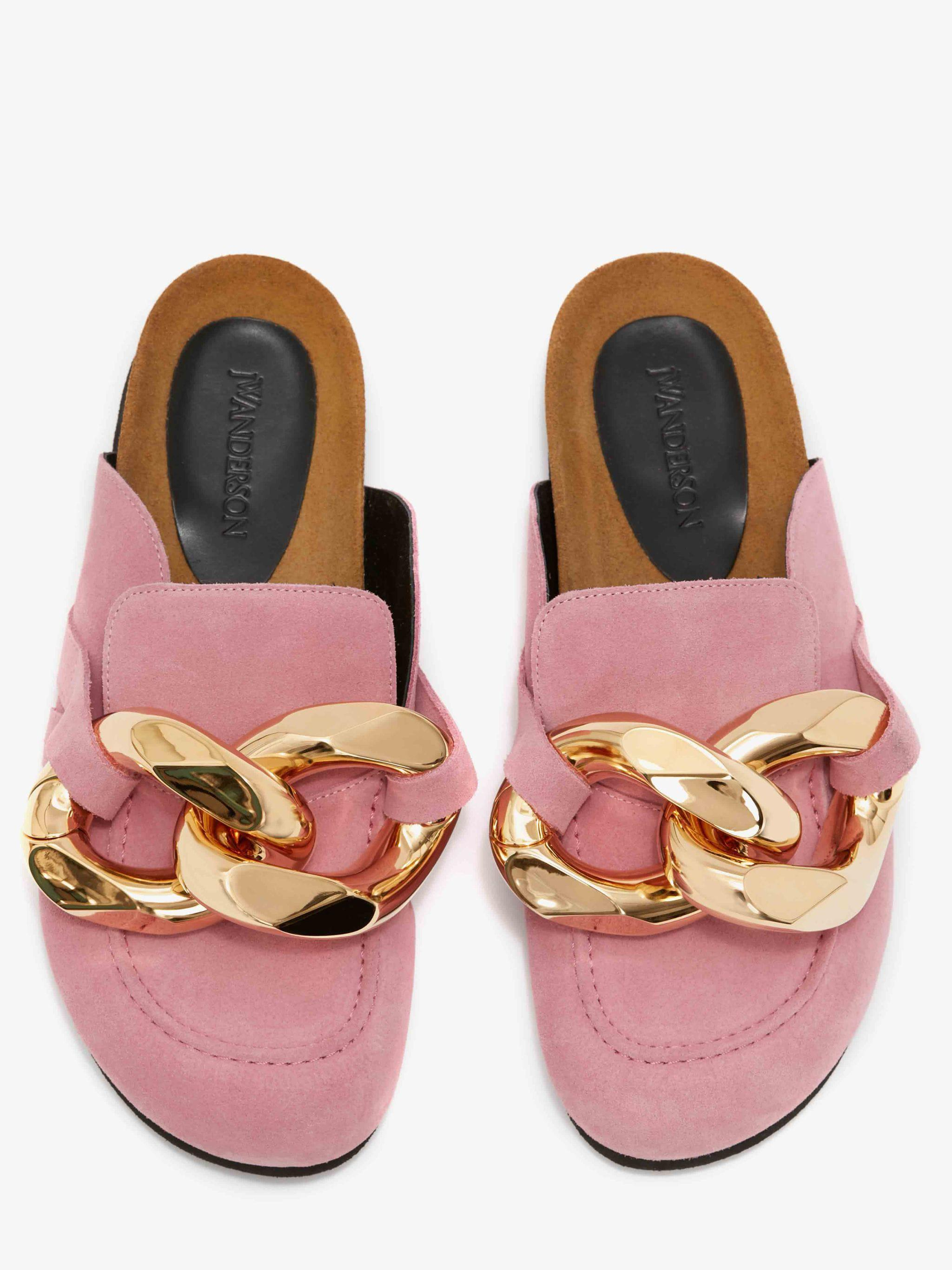 WOMEN'S CHAIN LOAFER MULES 3