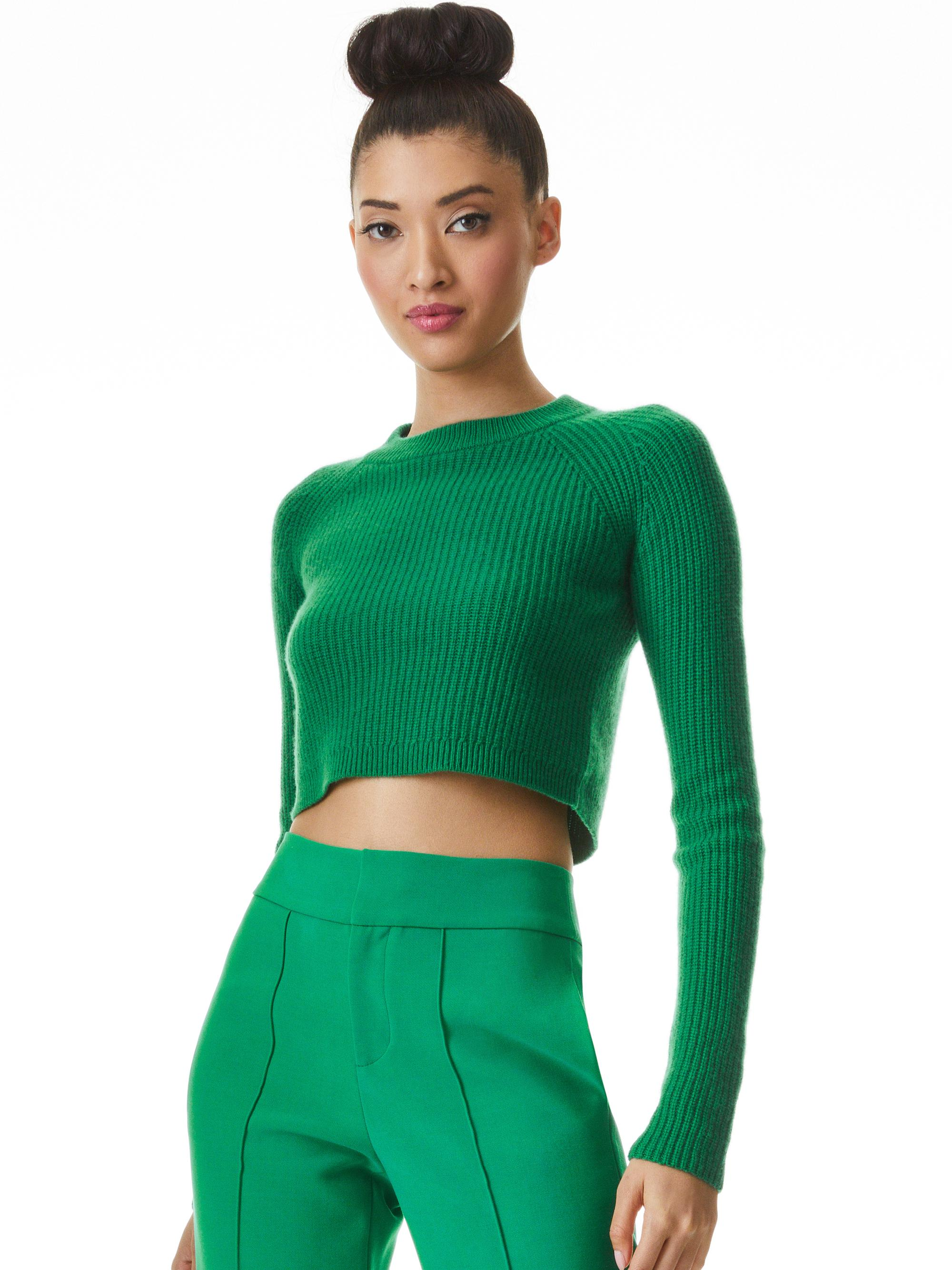 SHERICE CROPPED PULLOVER