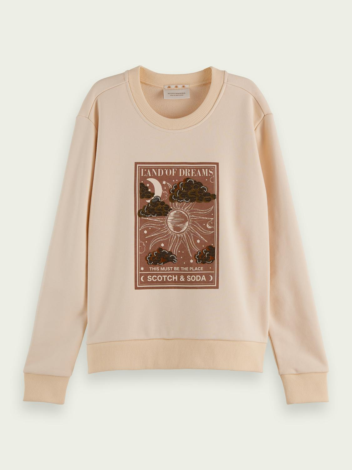 Relaxed-fit graphic sweater 3